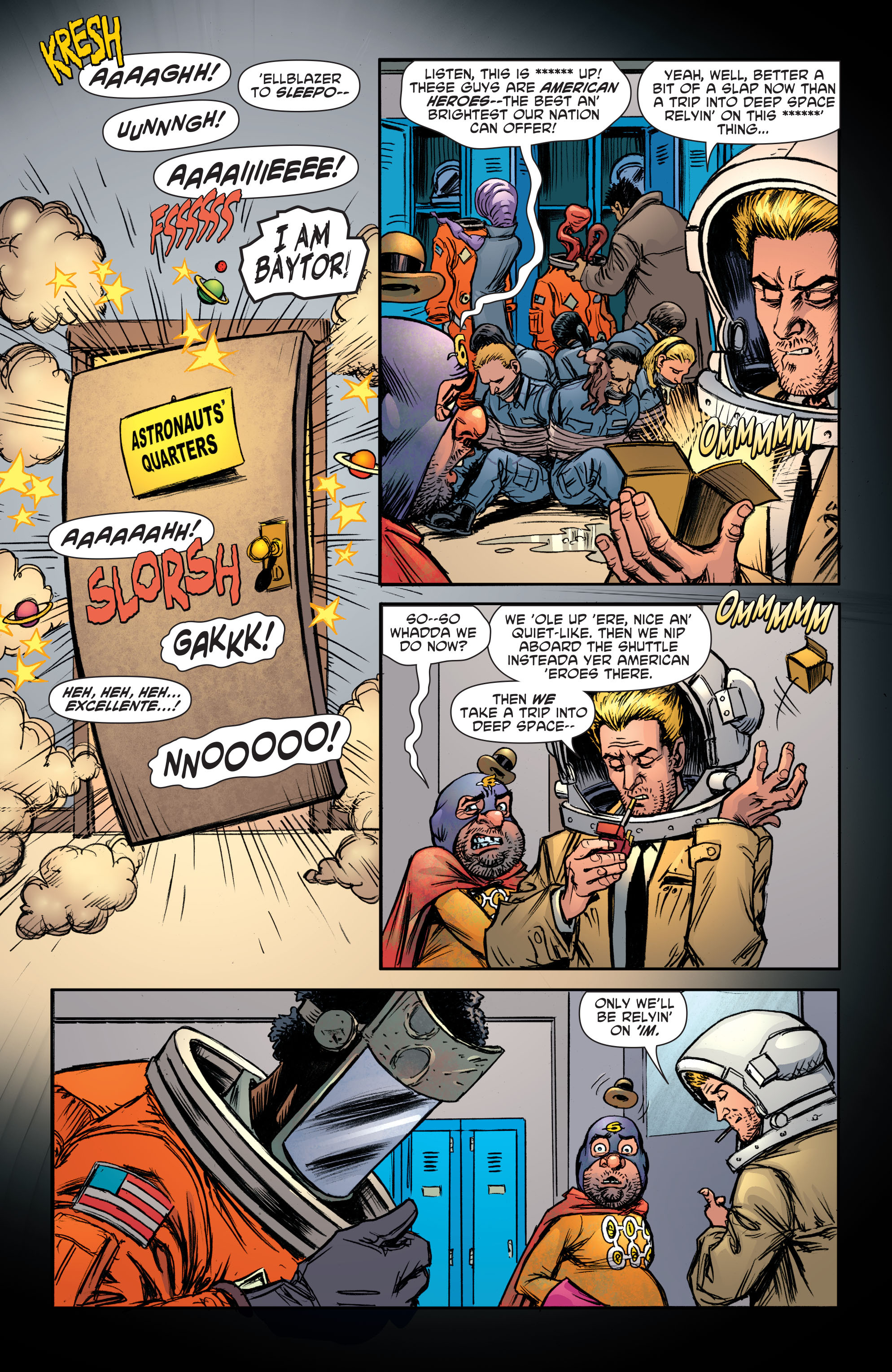 Read online Sixpack and Dogwelder: Hard Travelin' Heroz comic -  Issue #5 - 11