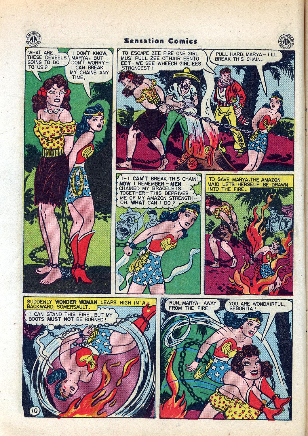 Read online Sensation (Mystery) Comics comic -  Issue #45 - 12