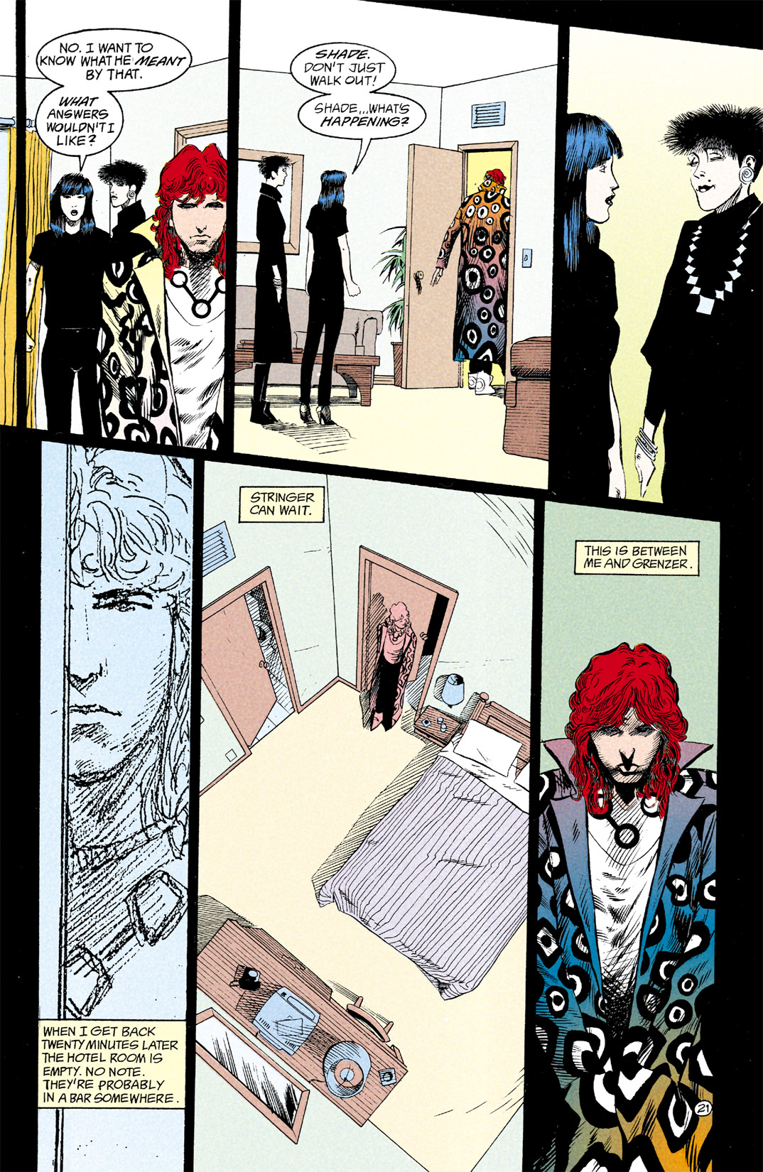 Read online Shade, the Changing Man comic -  Issue #12 - 22