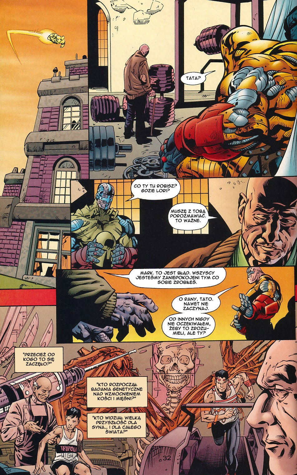 Read online JLA Superpower comic -  Issue # Full - 32