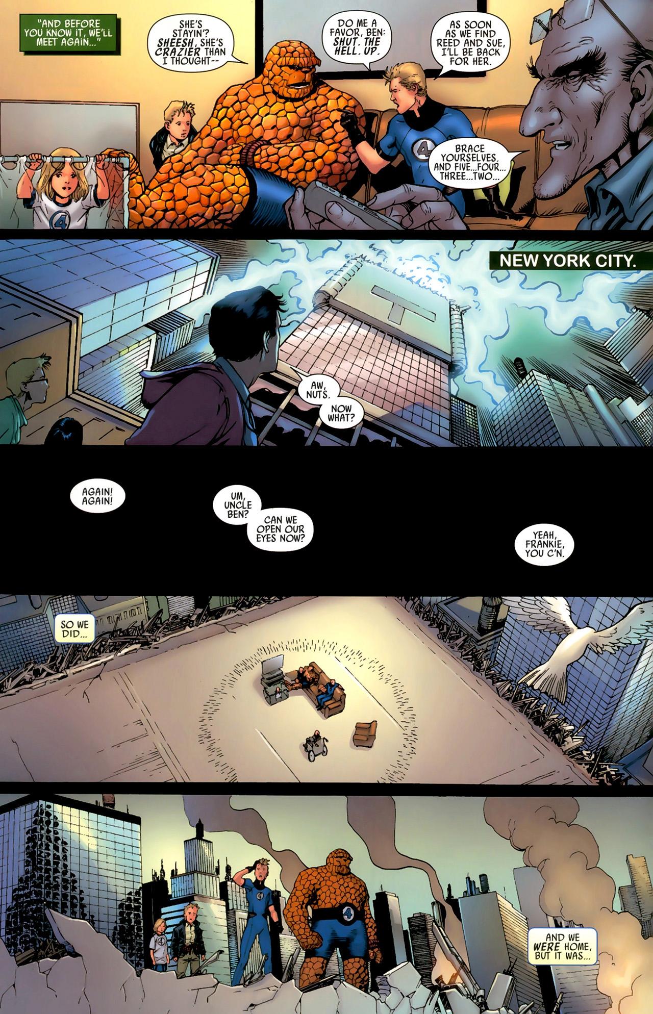 Read online Secret Invasion: Fantastic Four comic -  Issue #3 - 22