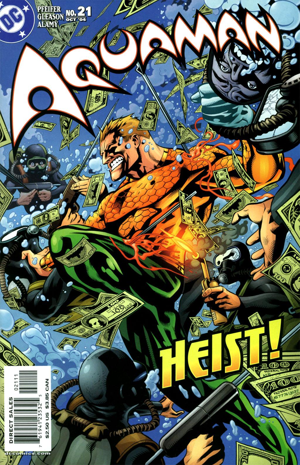 Aquaman (2003) 21 Page 1