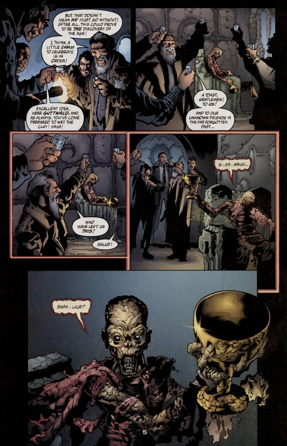 Read online Aquaman (2003) comic -  Issue #5 - 7