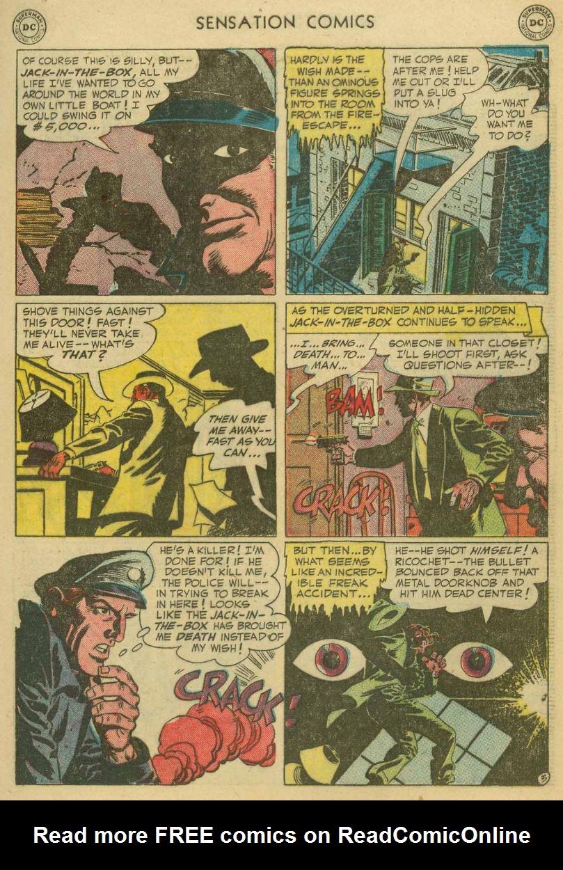 Read online Sensation (Mystery) Comics comic -  Issue #107 - 5