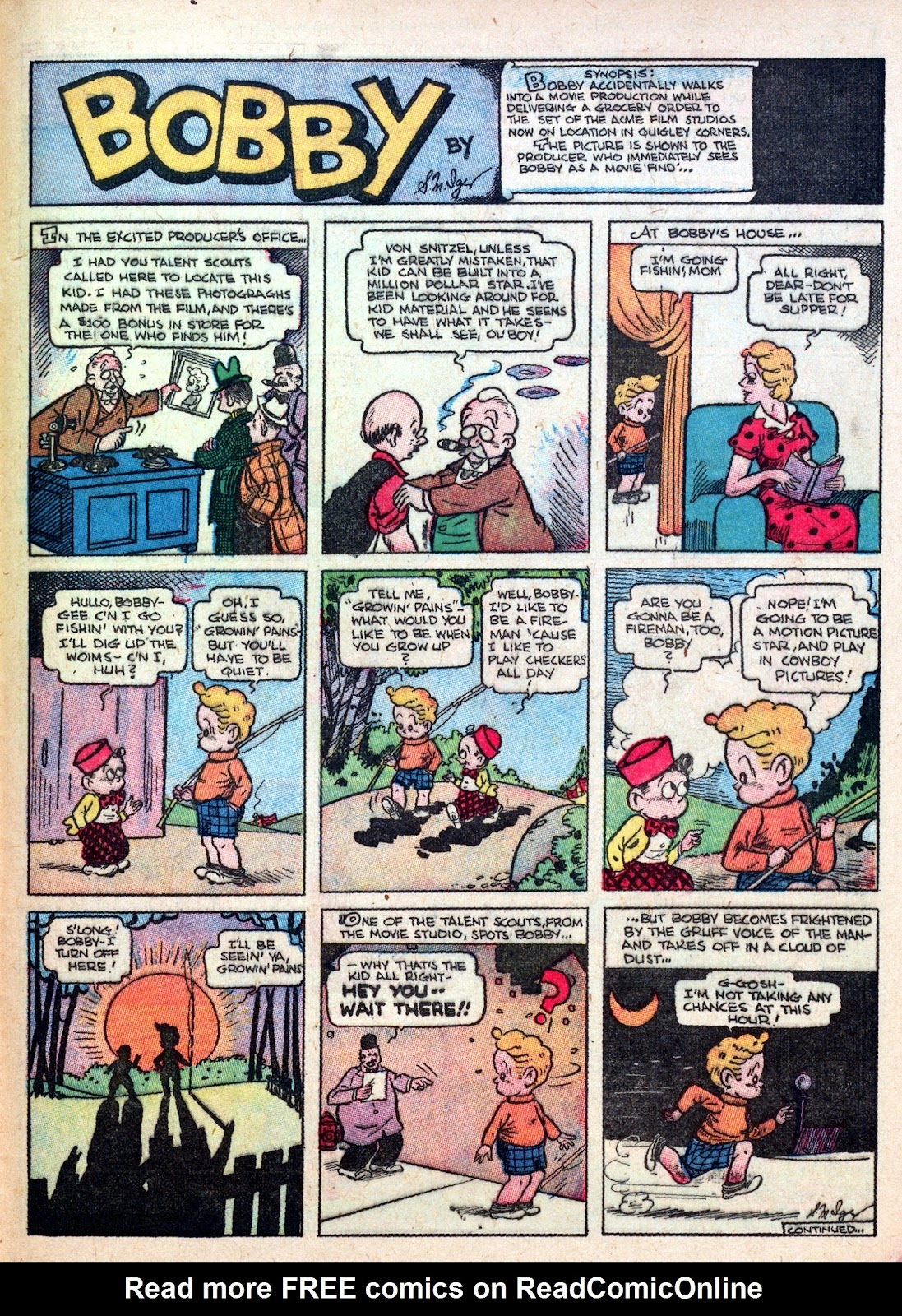 Read online Famous Funnies comic -  Issue #45 - 49