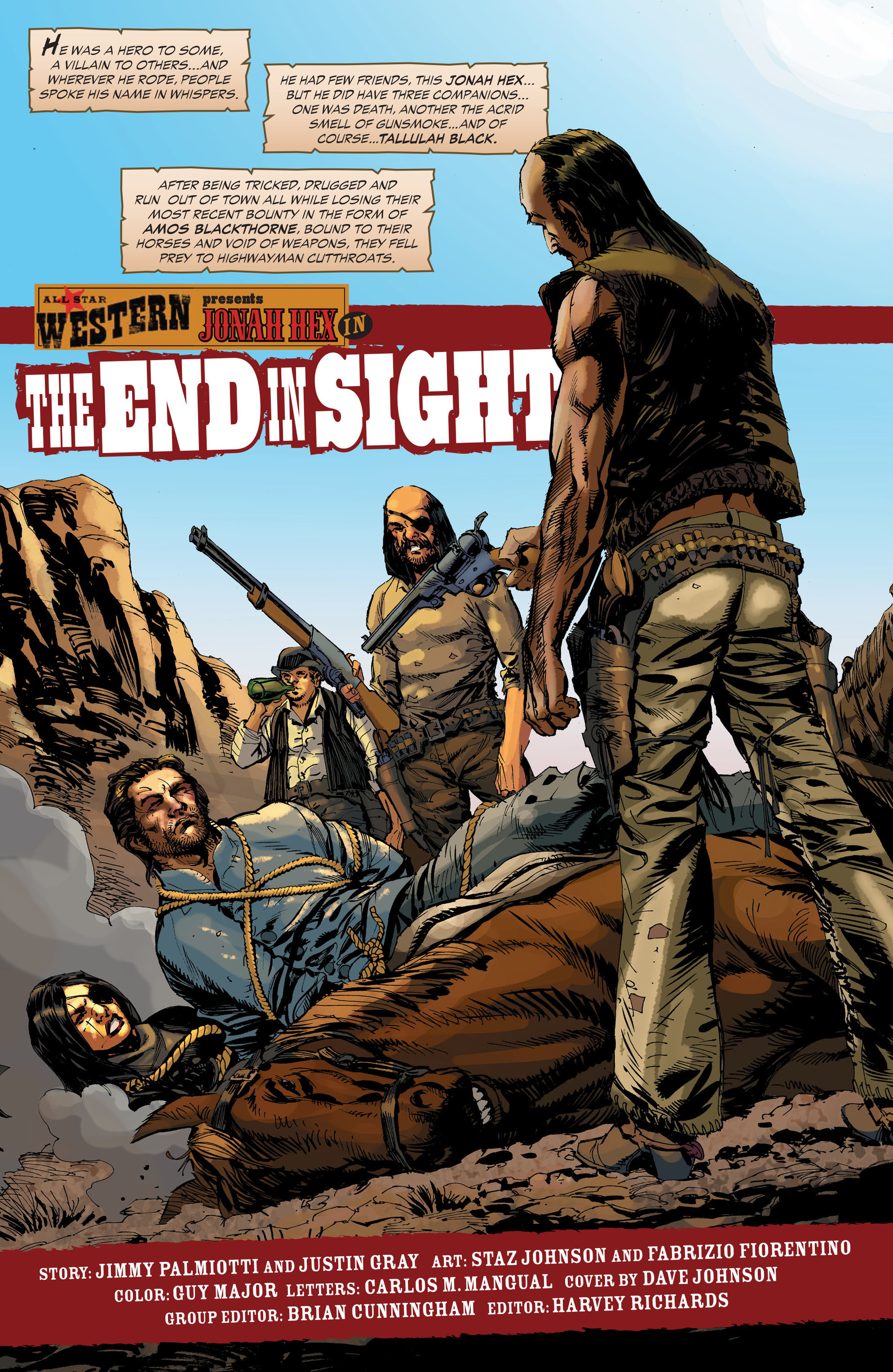 Read online All-Star Western (2011) comic -  Issue #33 - 2