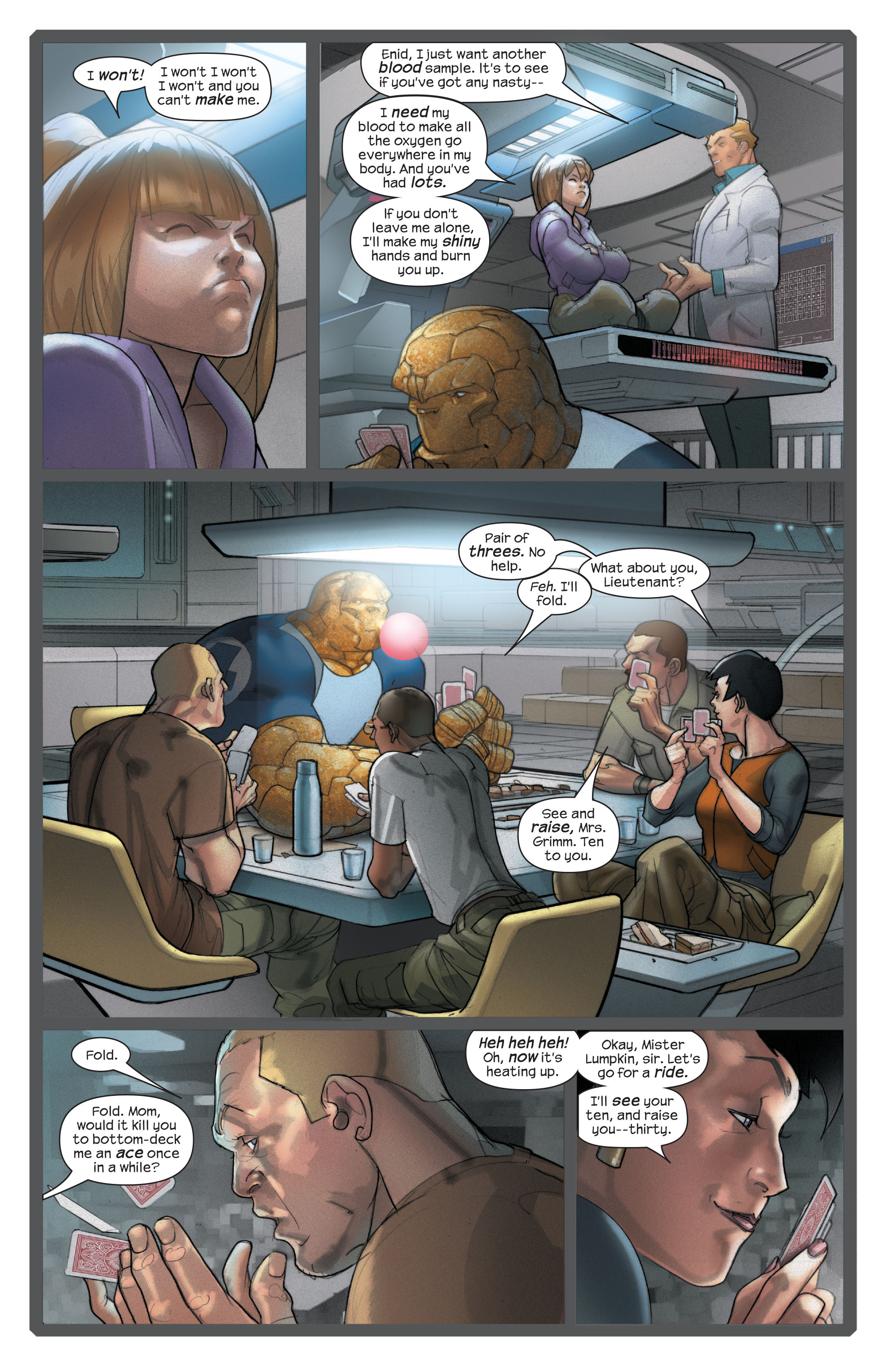 Read online Ultimate Fantastic Four (2004) comic -  Issue #42 - 9