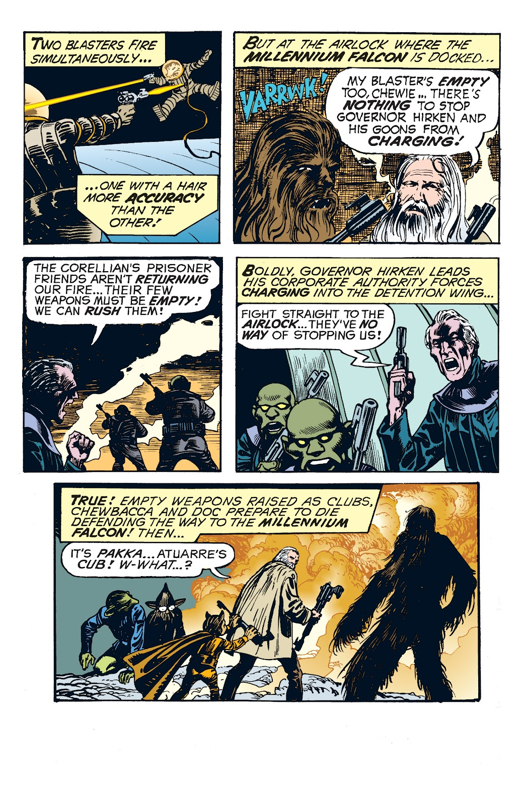Read online Star Wars Legends: The Newspaper Strips - Epic Collection comic -  Issue # TPB (Part 4) - 76