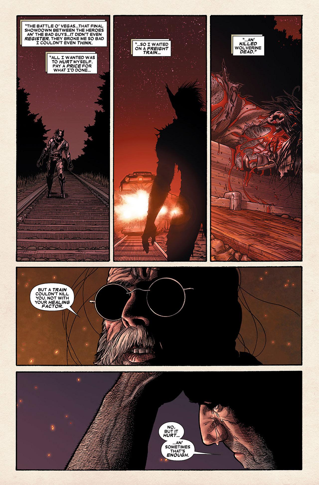 Read online Wolverine: Old Man Logan comic -  Issue # Full - 109