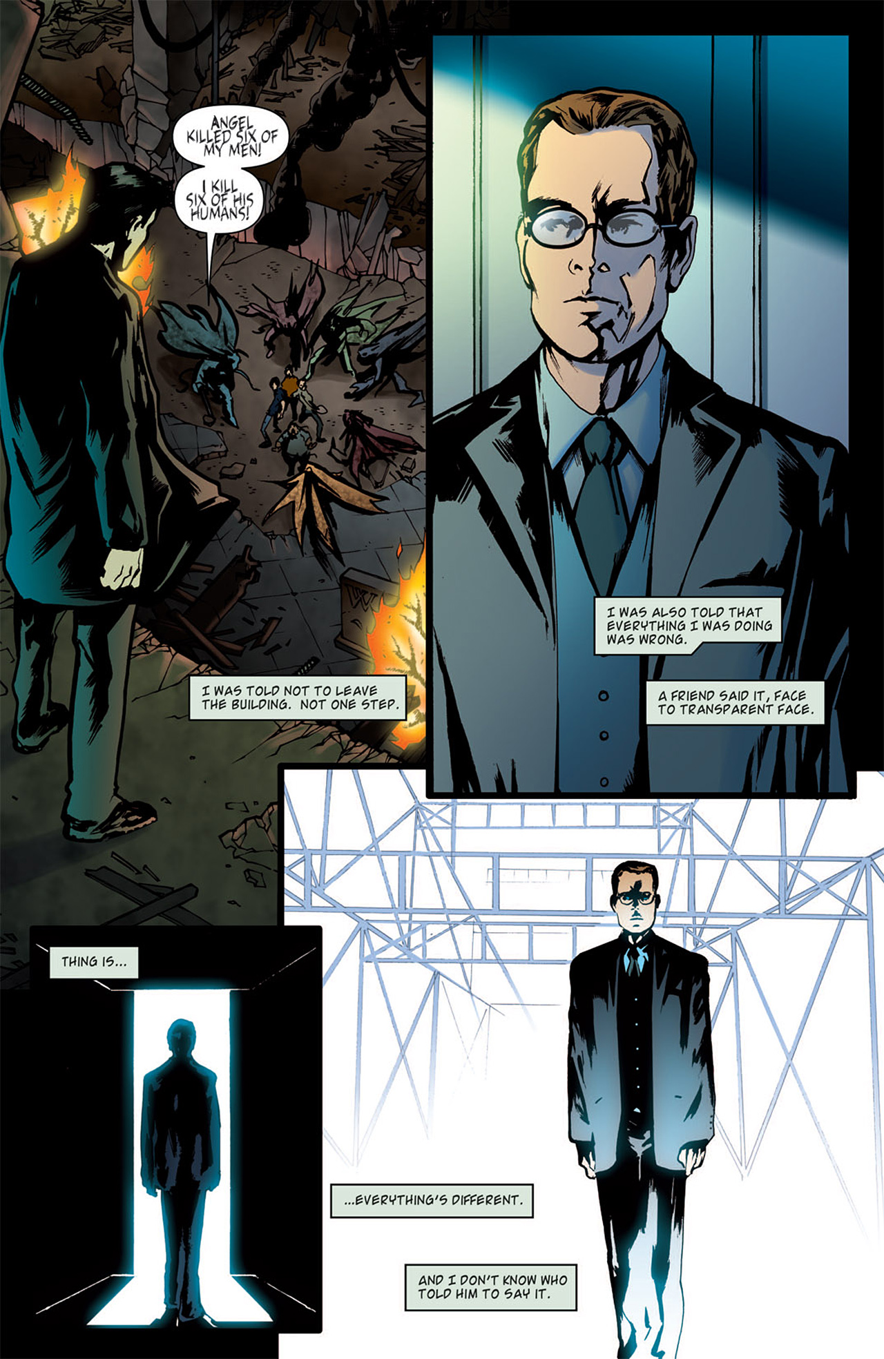 Read online Angel: After The Fall comic -  Issue #1 - 25