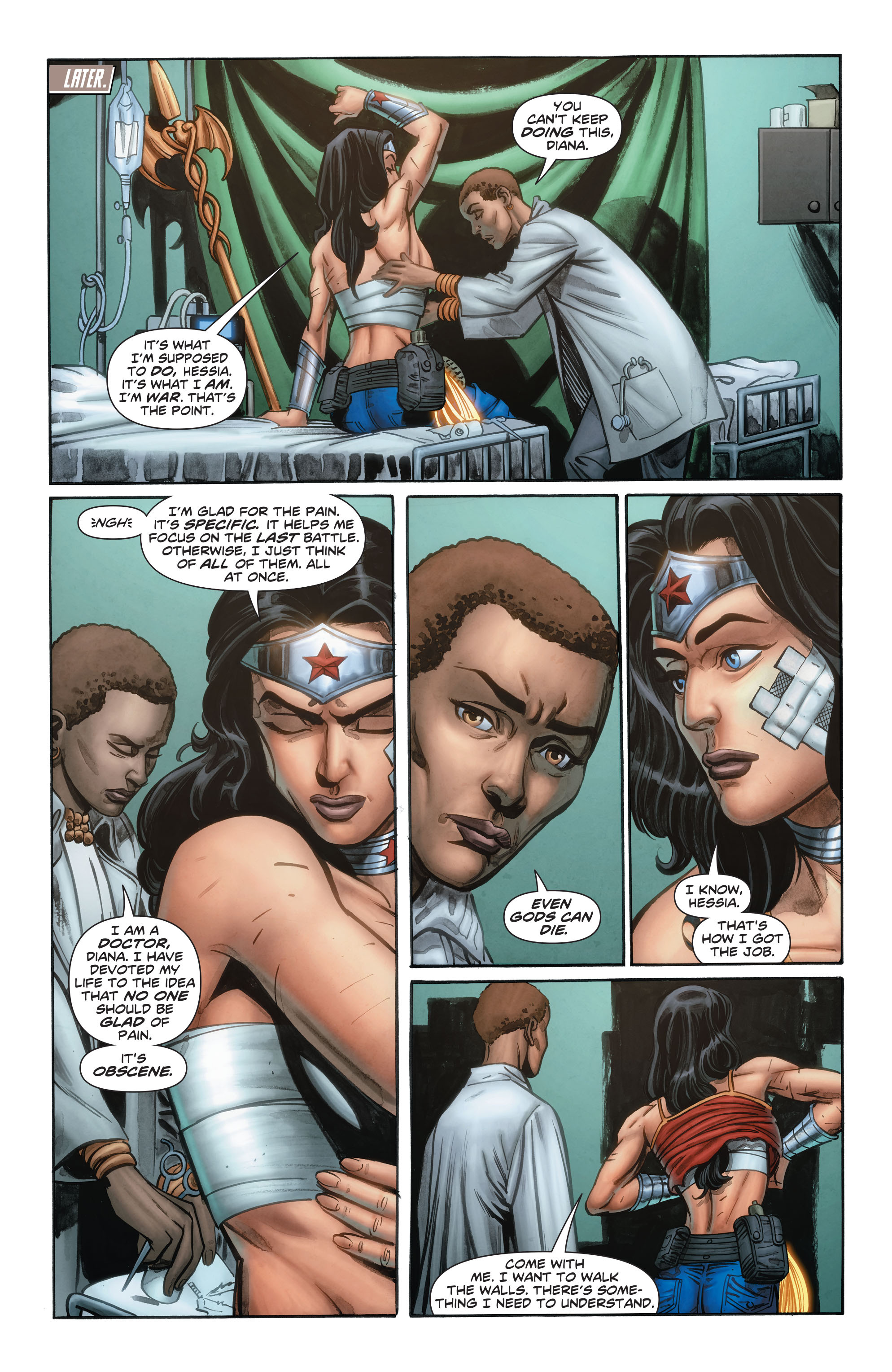 Read online Wonder Woman: Futures End comic -  Issue # Full - 11