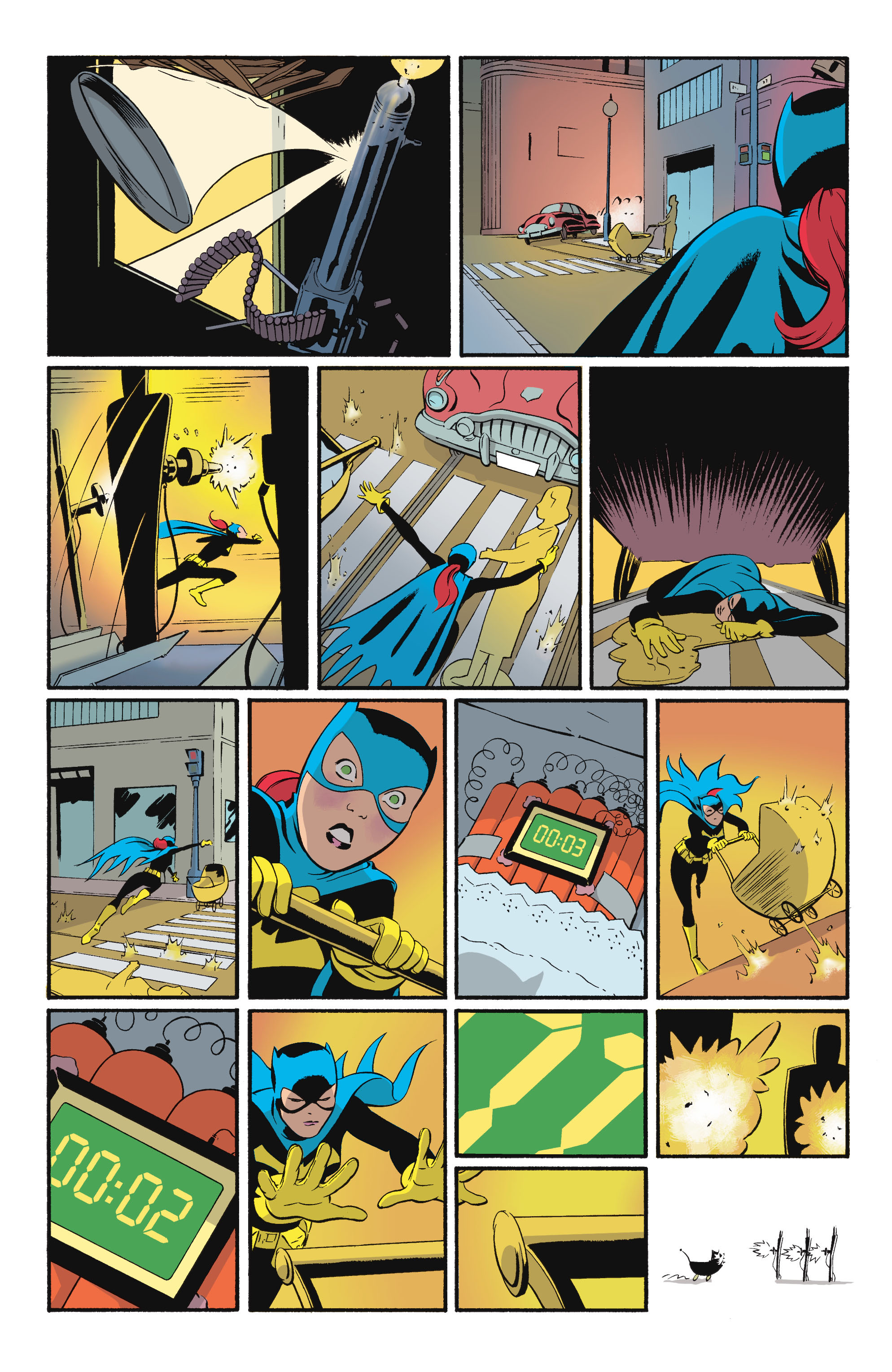 Read online Batgirl/Robin: Year One comic -  Issue # TPB 2 - 77