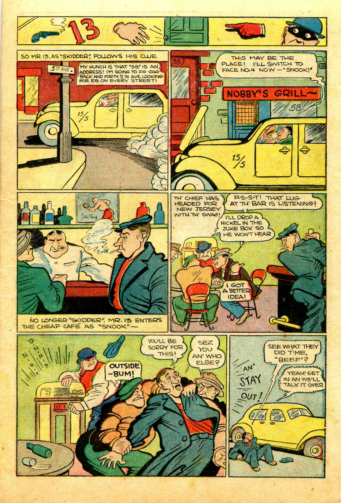 Read online Shadow Comics comic -  Issue #43 - 21