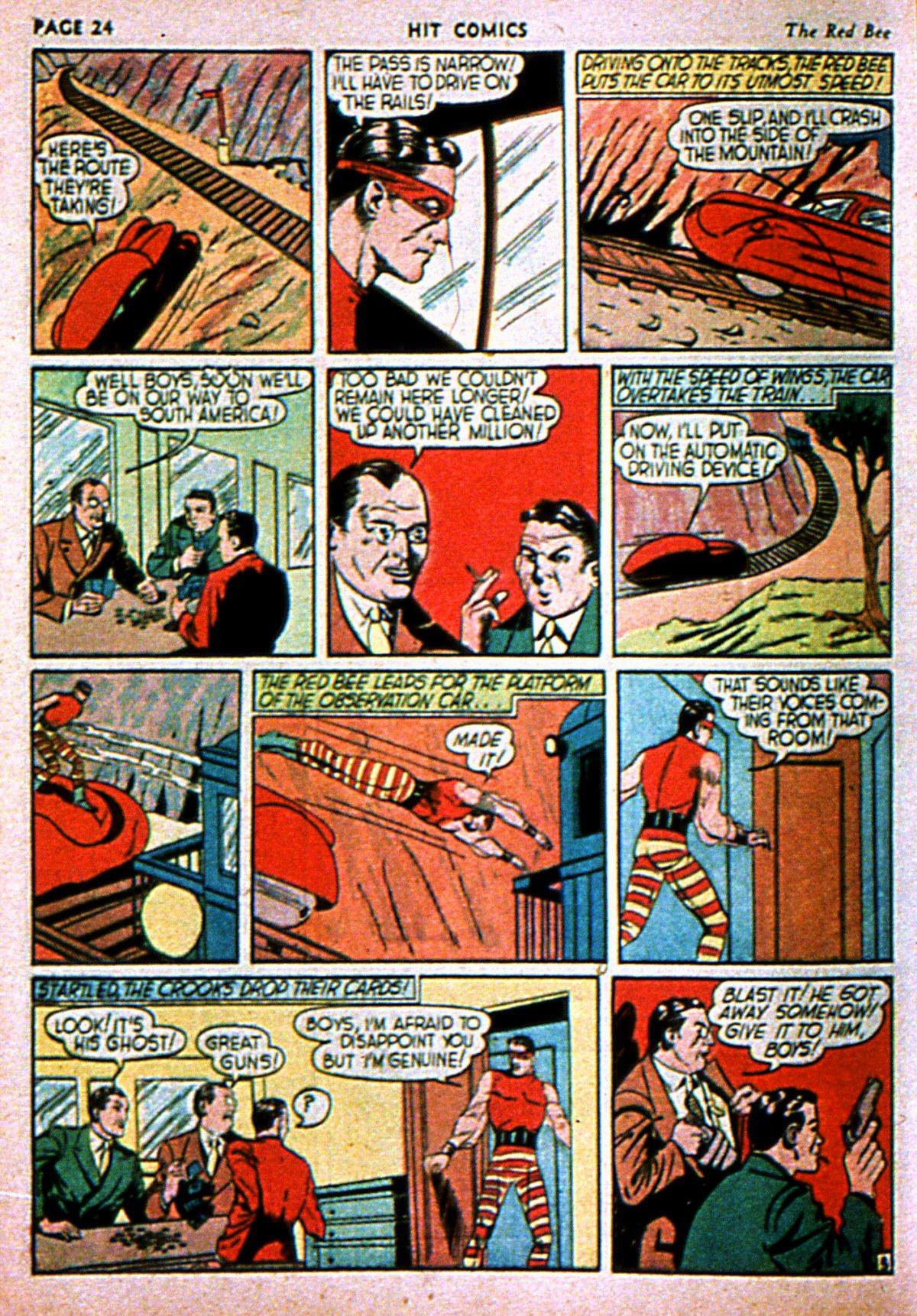 Read online Hit Comics comic -  Issue #3 - 26