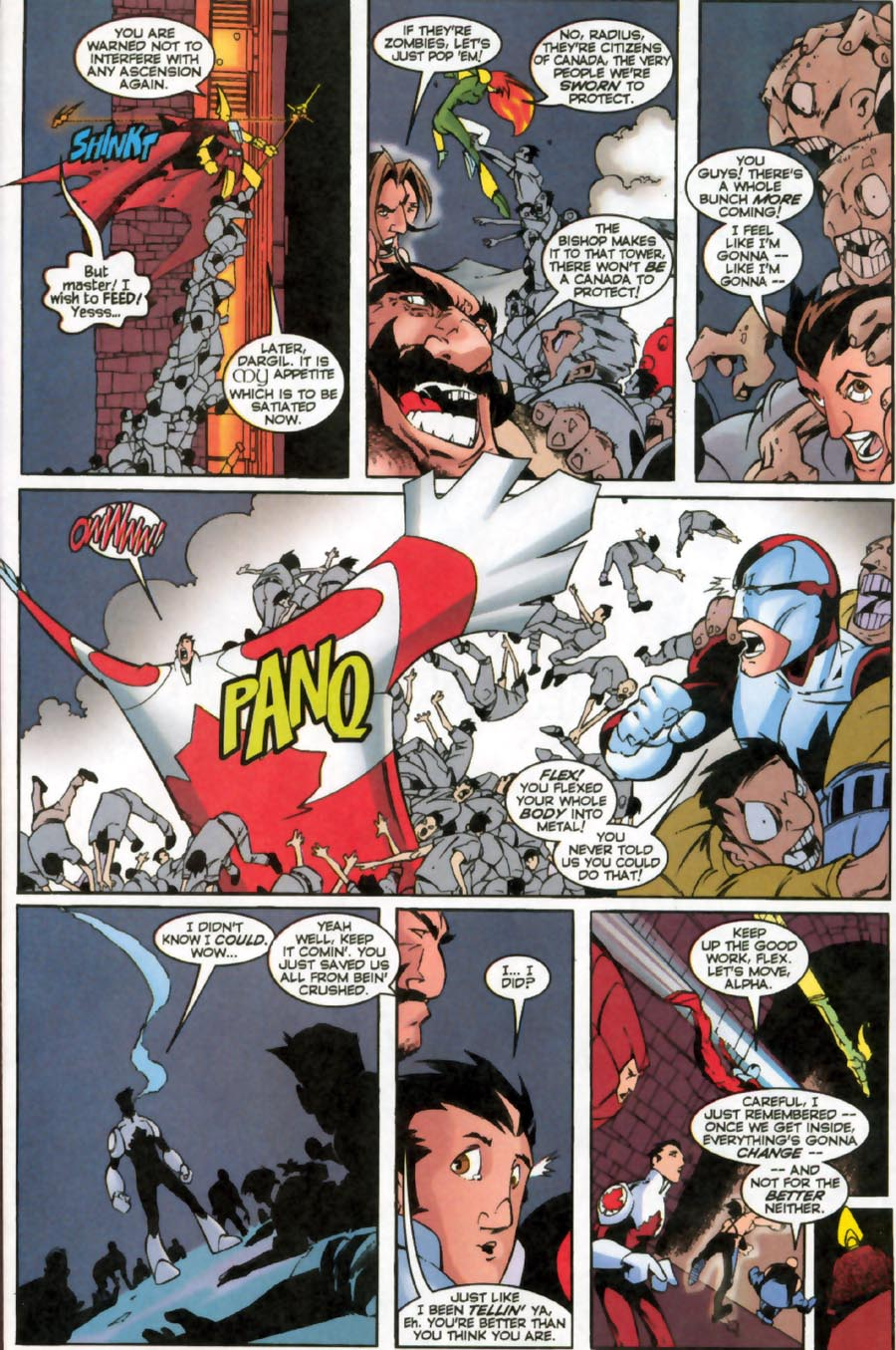 Read online Alpha Flight (1997) comic -  Issue #16 - 10