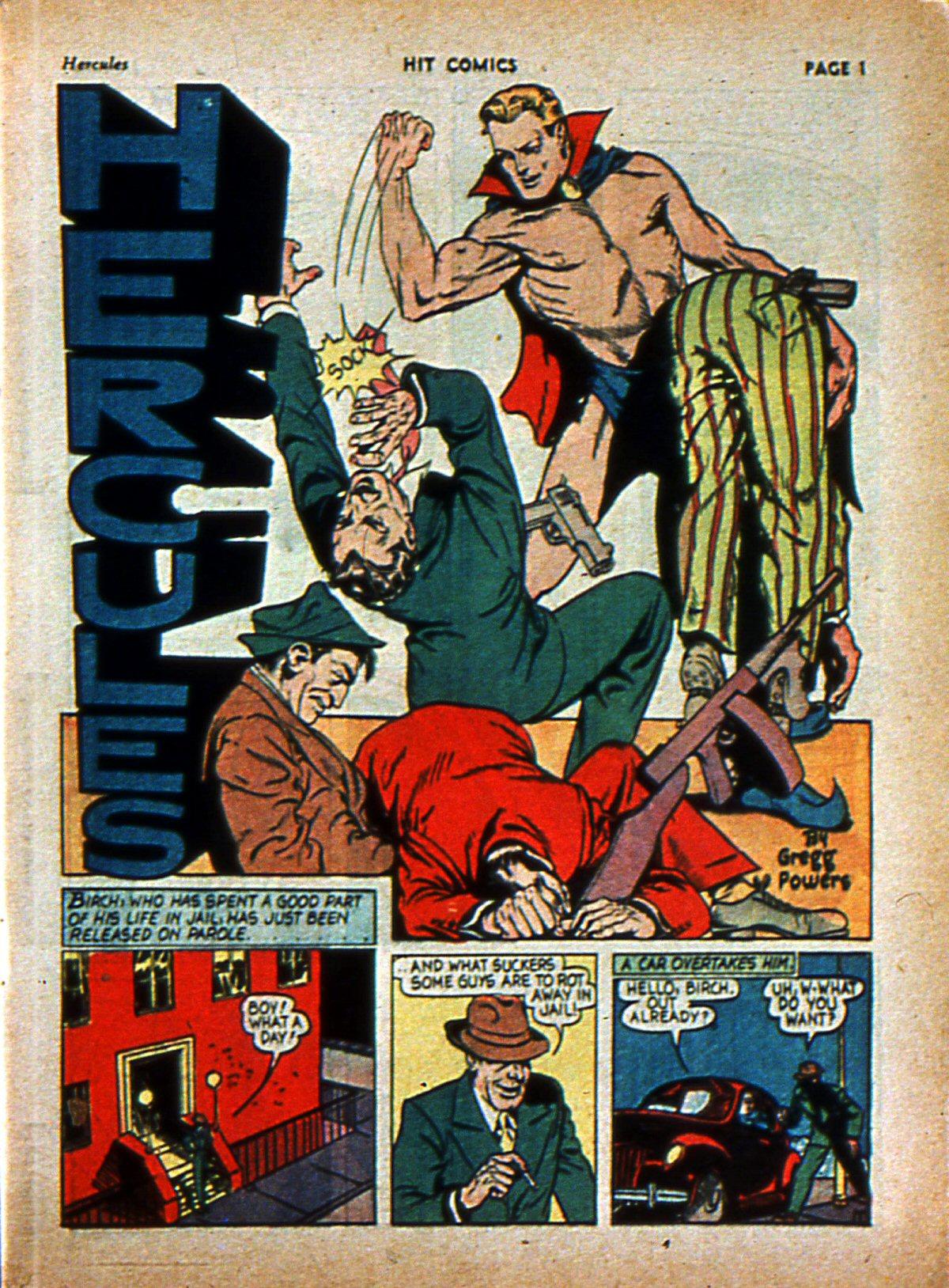 Read online Hit Comics comic -  Issue #3 - 3