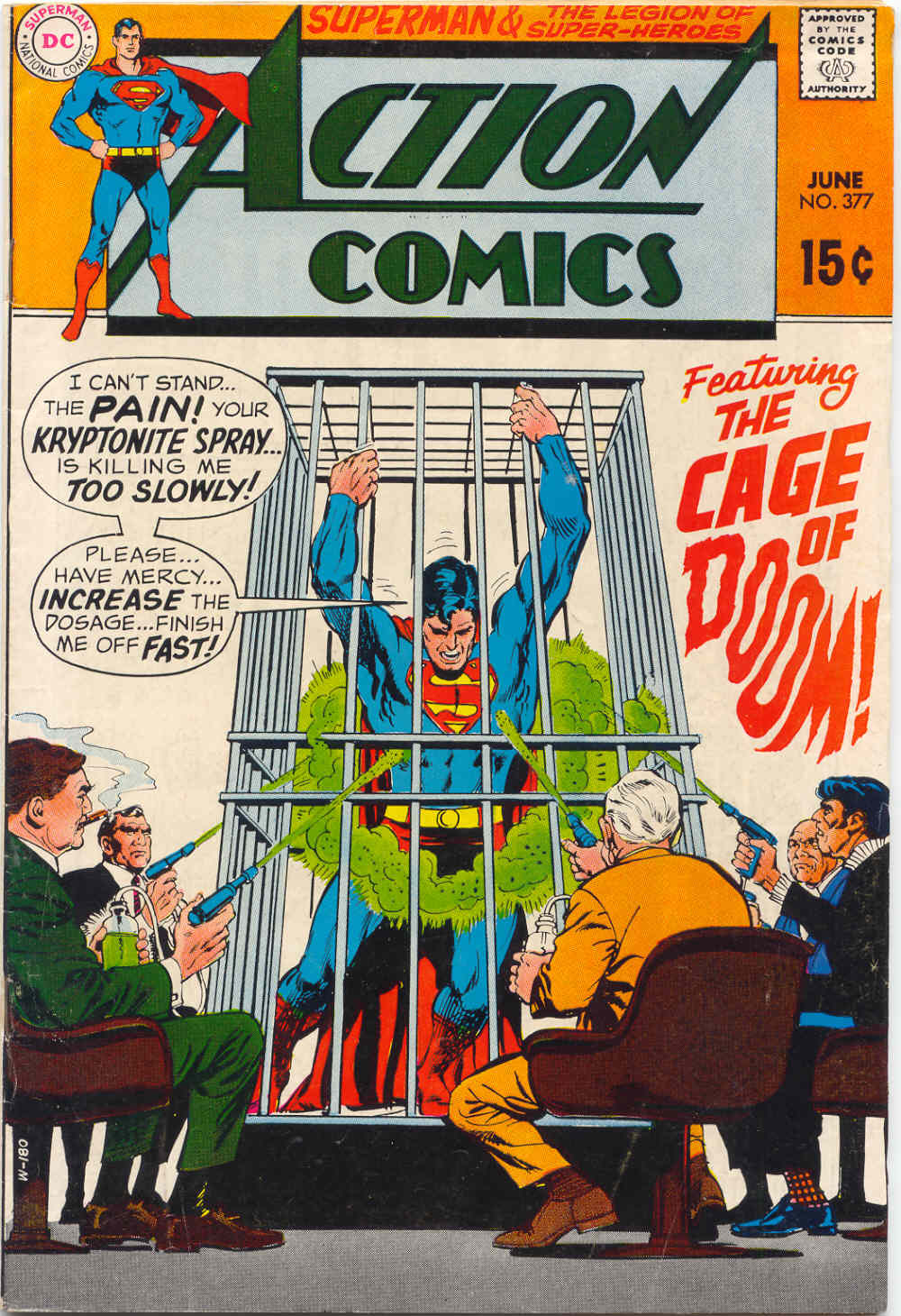 Read online Action Comics (1938) comic -  Issue #377 - 1