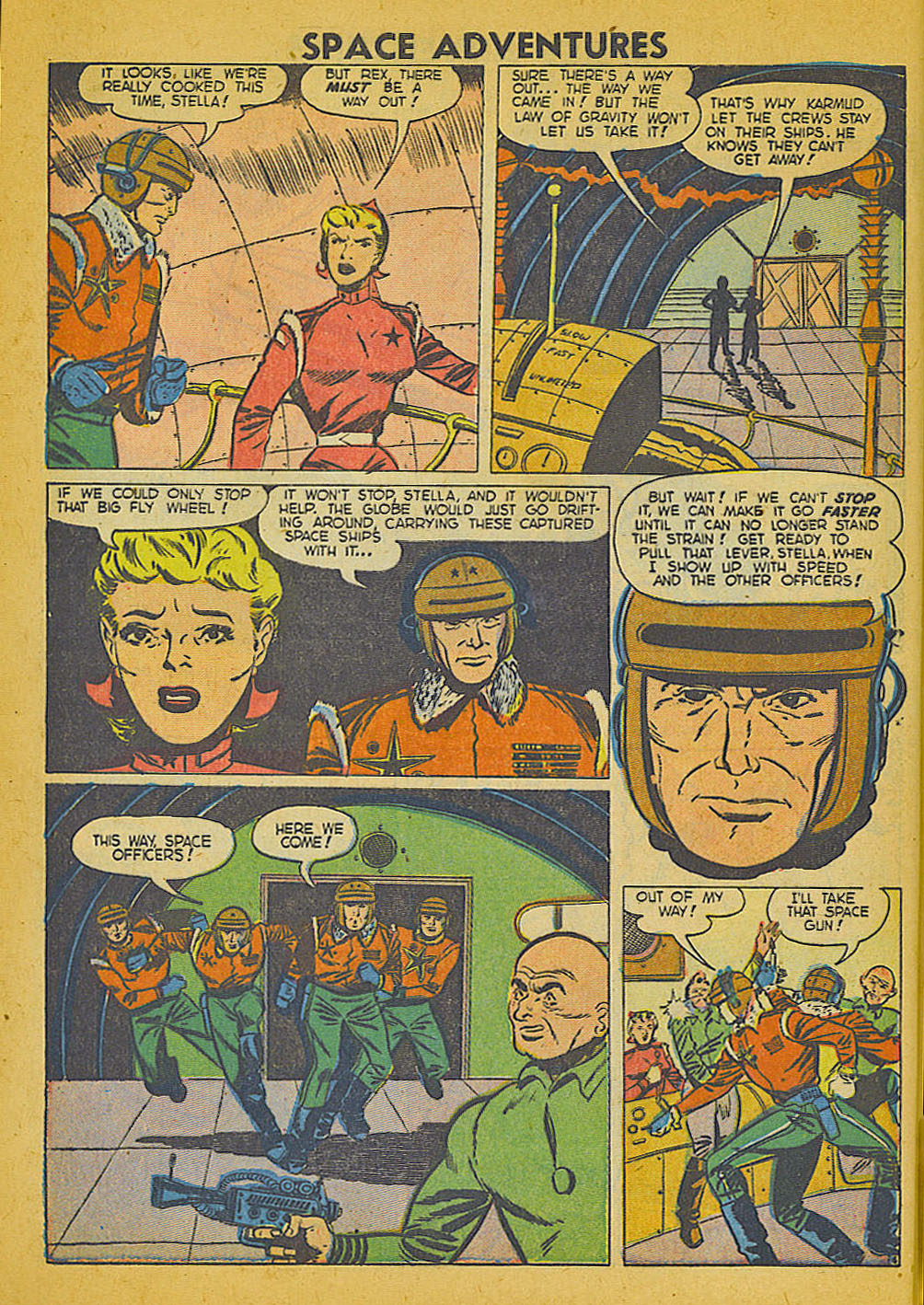 Space Adventures (1952) issue 3 - Page 7