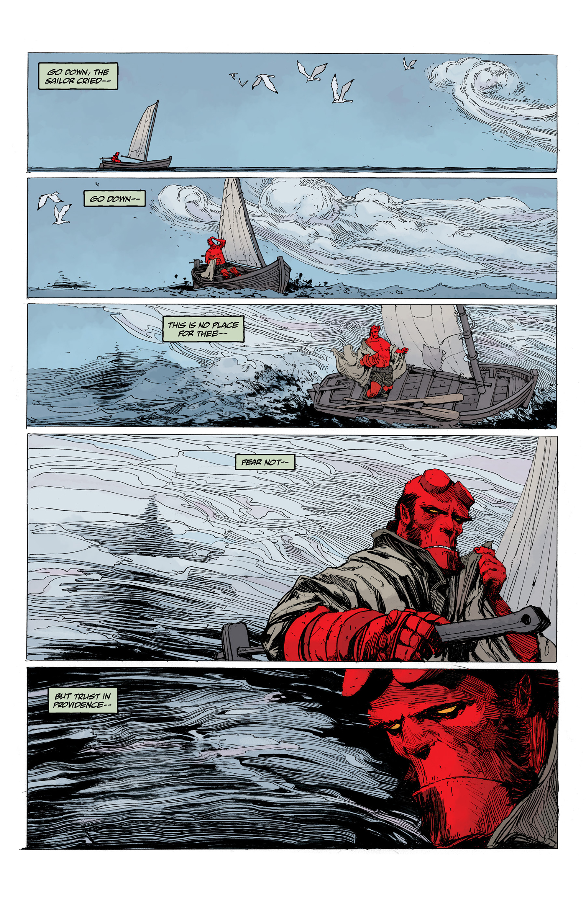 Read online Hellboy: Into the Silent Sea comic -  Issue # Full - 11