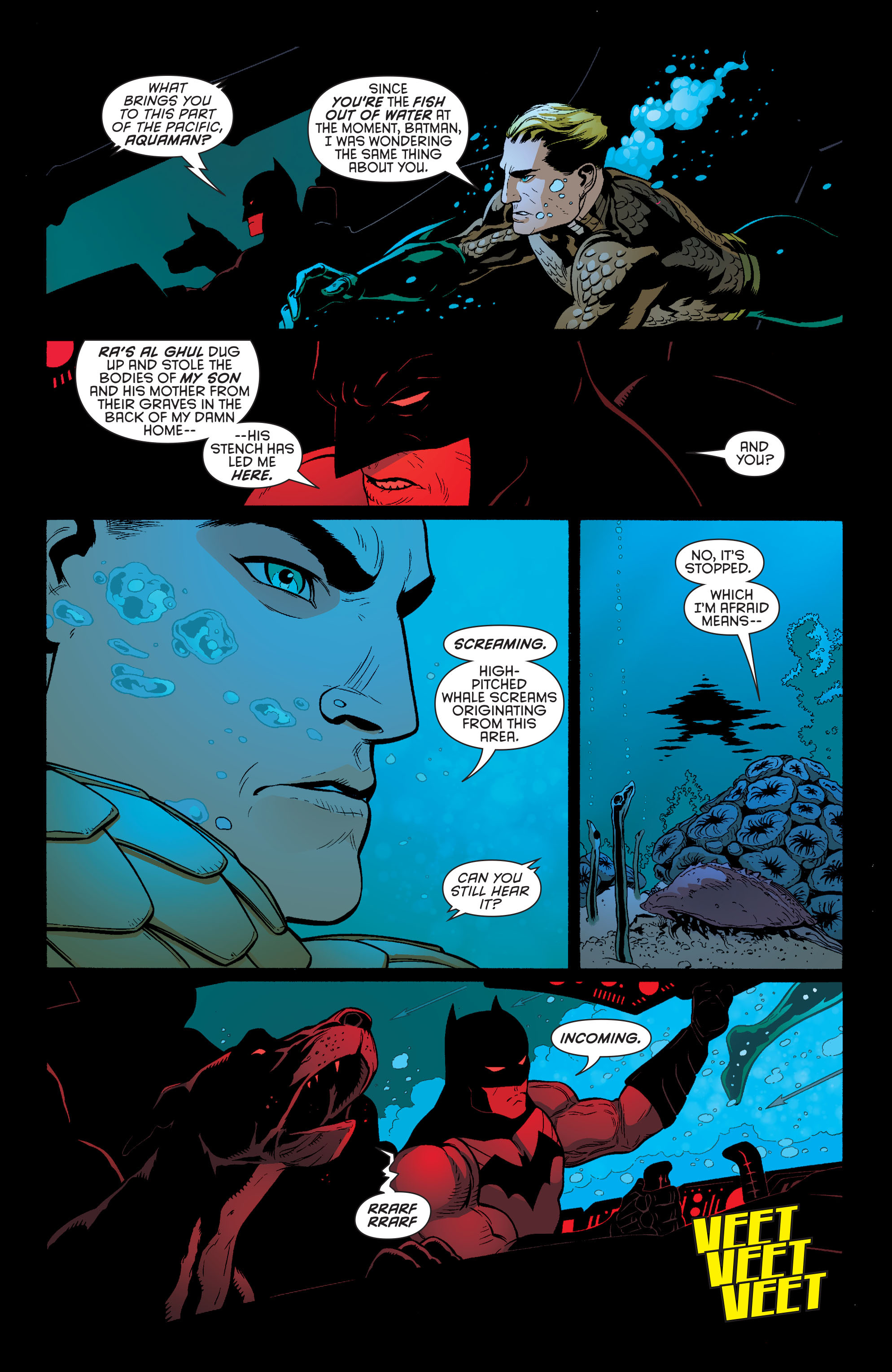 Read online Batman and Robin (2011) comic -  Issue #29 - Batman and Aquaman - 4