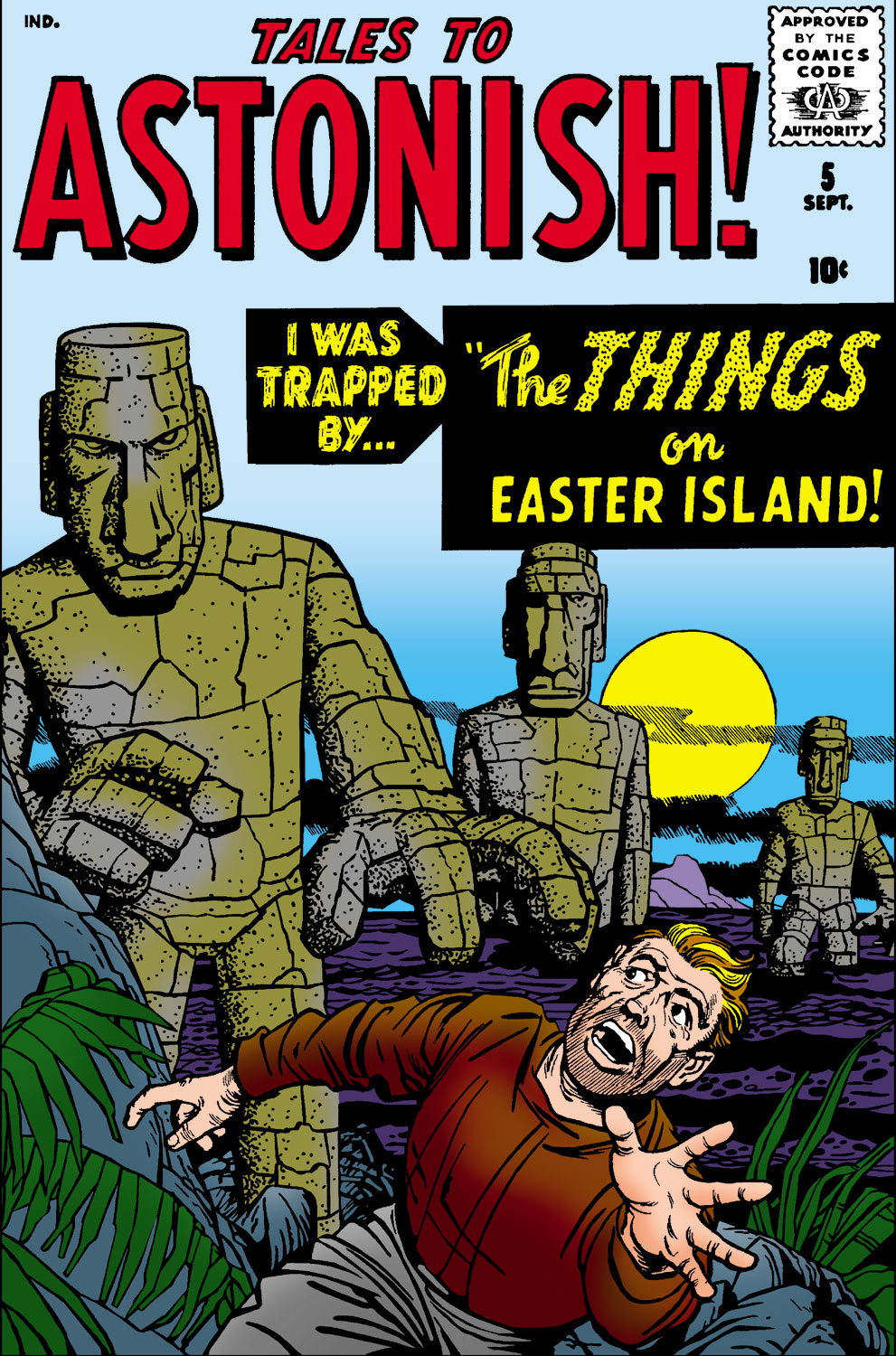 Tales to Astonish (1959) issue 5 - Page 1