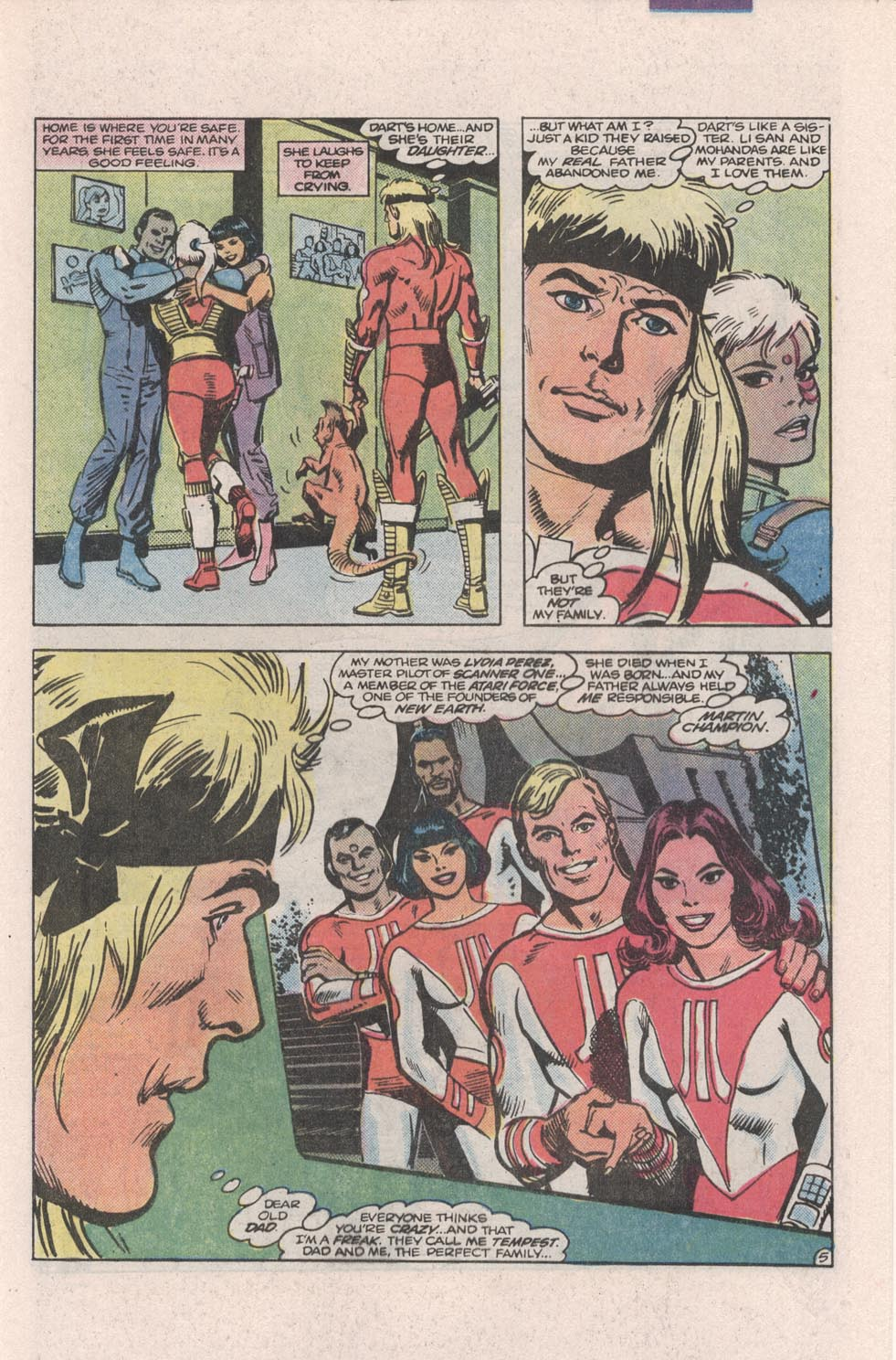Read online Atari Force (1984) comic -  Issue #4 - 6