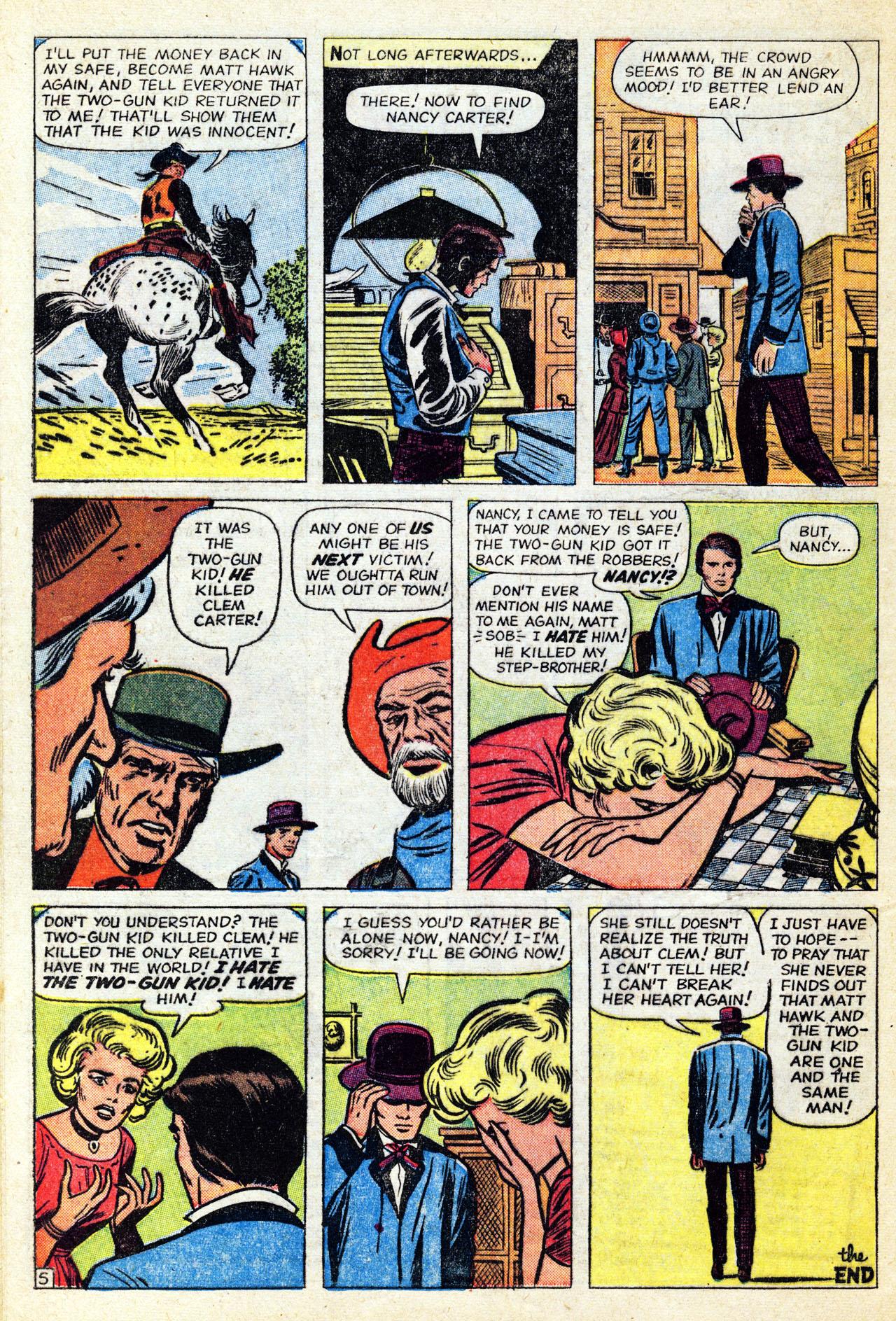 Read online Two-Gun Kid comic -  Issue #60 - 32