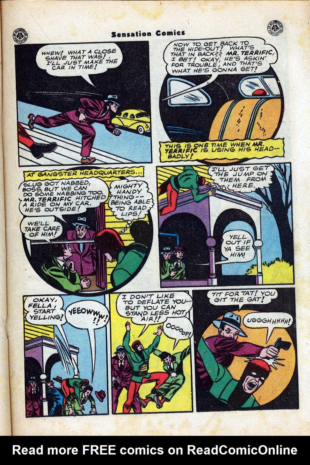 Read online Sensation (Mystery) Comics comic -  Issue #47 - 29