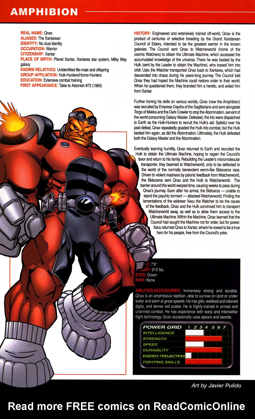 Read online All-New Official Handbook of the Marvel Universe A to Z comic -  Issue #1 - 20