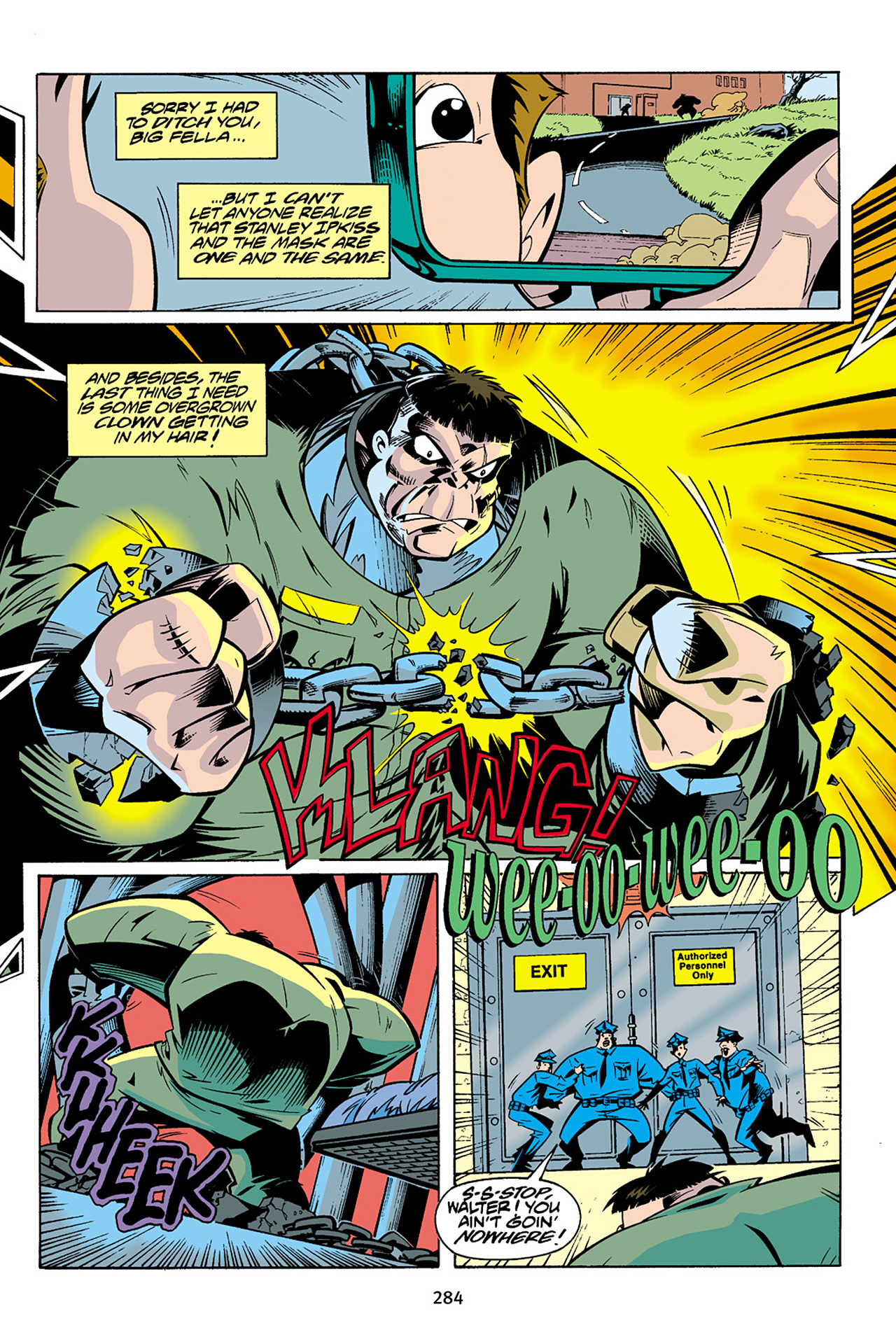 Read online Adventures Of The Mask Omnibus comic -  Issue #Adventures Of The Mask Omnibus Full - 283