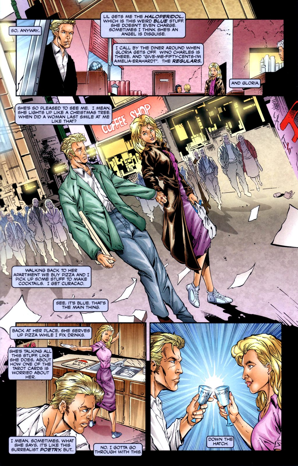 Read online Alan Moore's Glory comic -  Issue #2 - 21