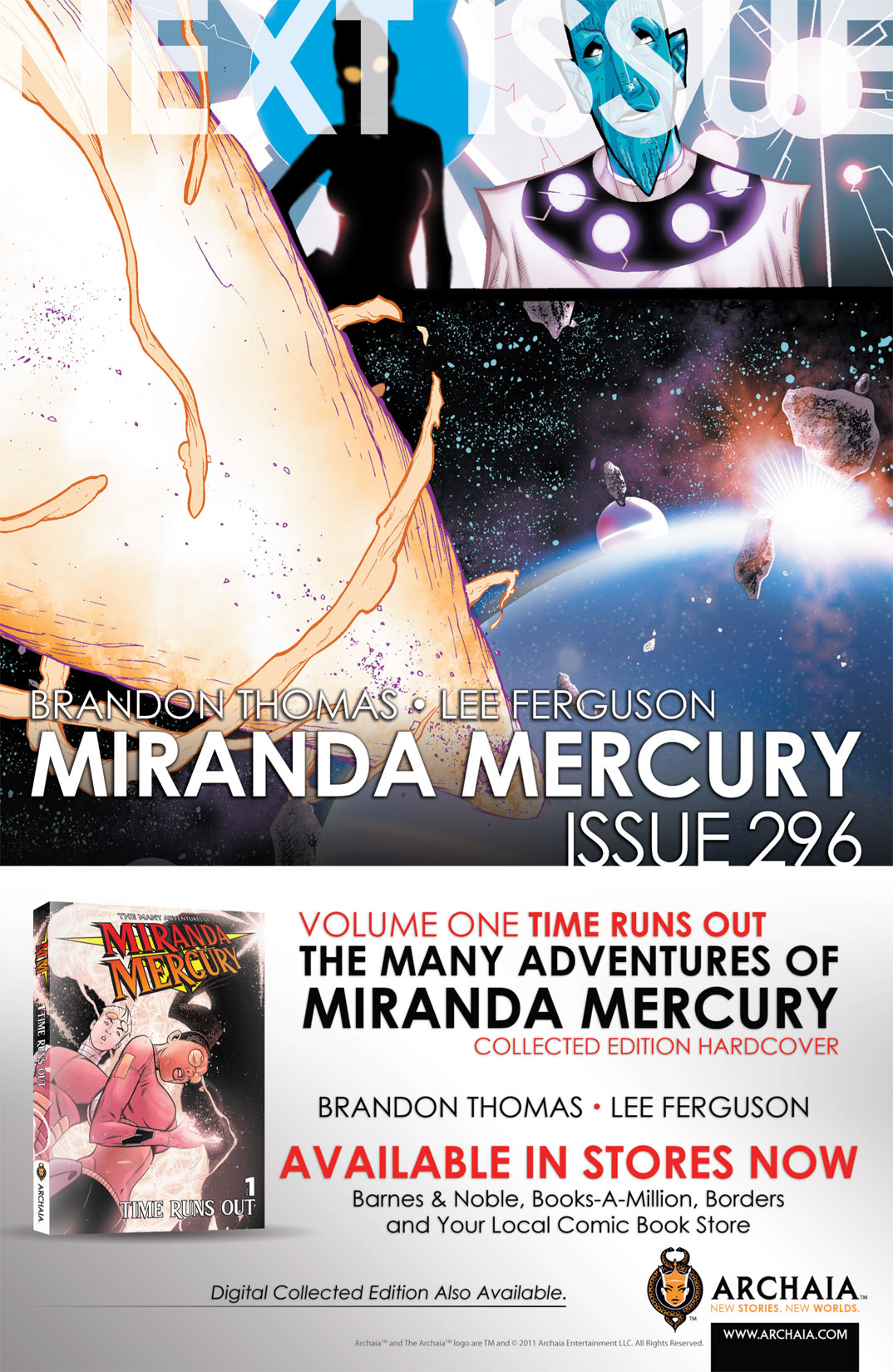 Read online The Many Adventures of Miranda Mercury: Time Runs Out comic -  Issue # TPB - 38