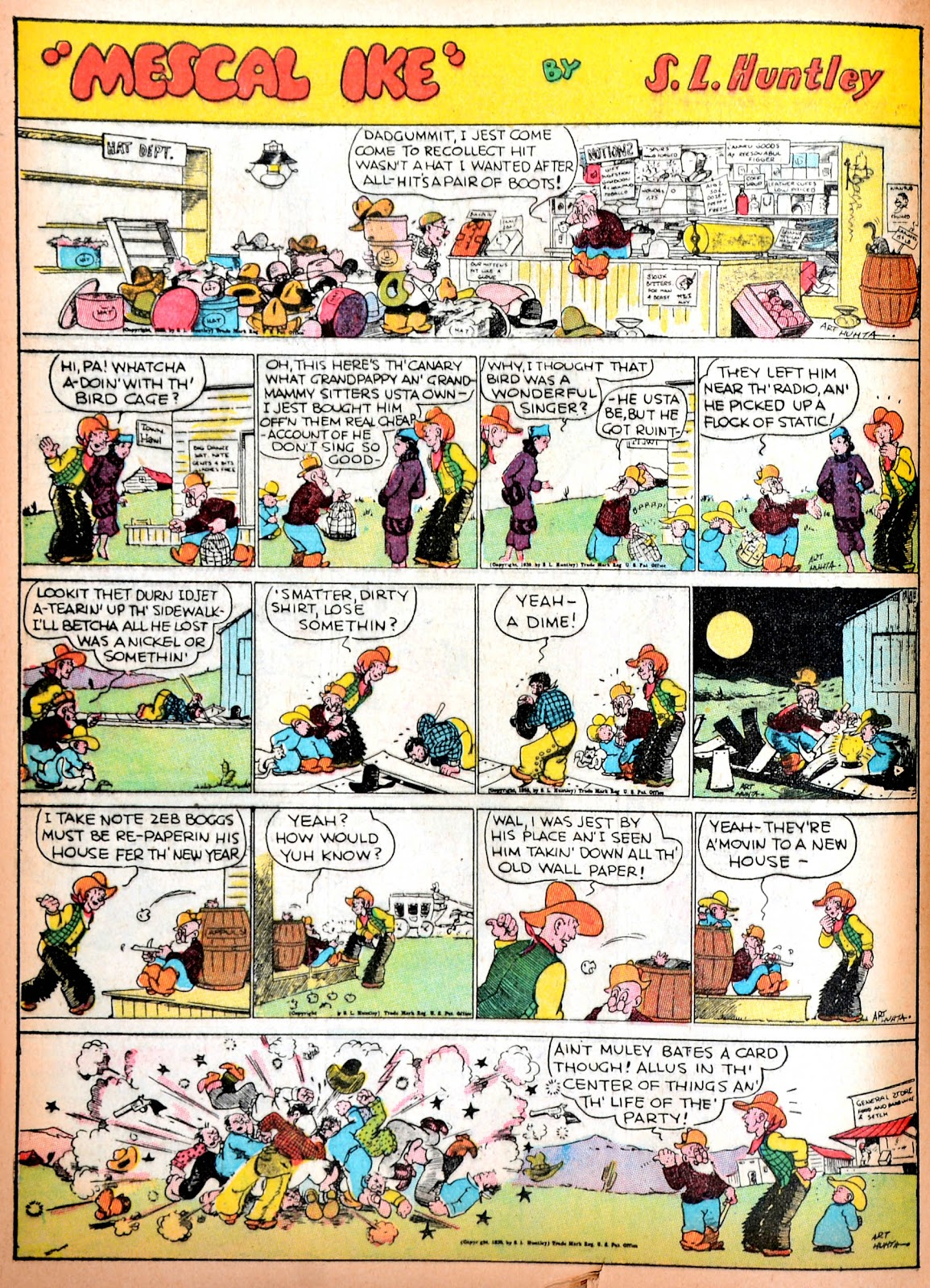 Read online Famous Funnies comic -  Issue #11 - 53