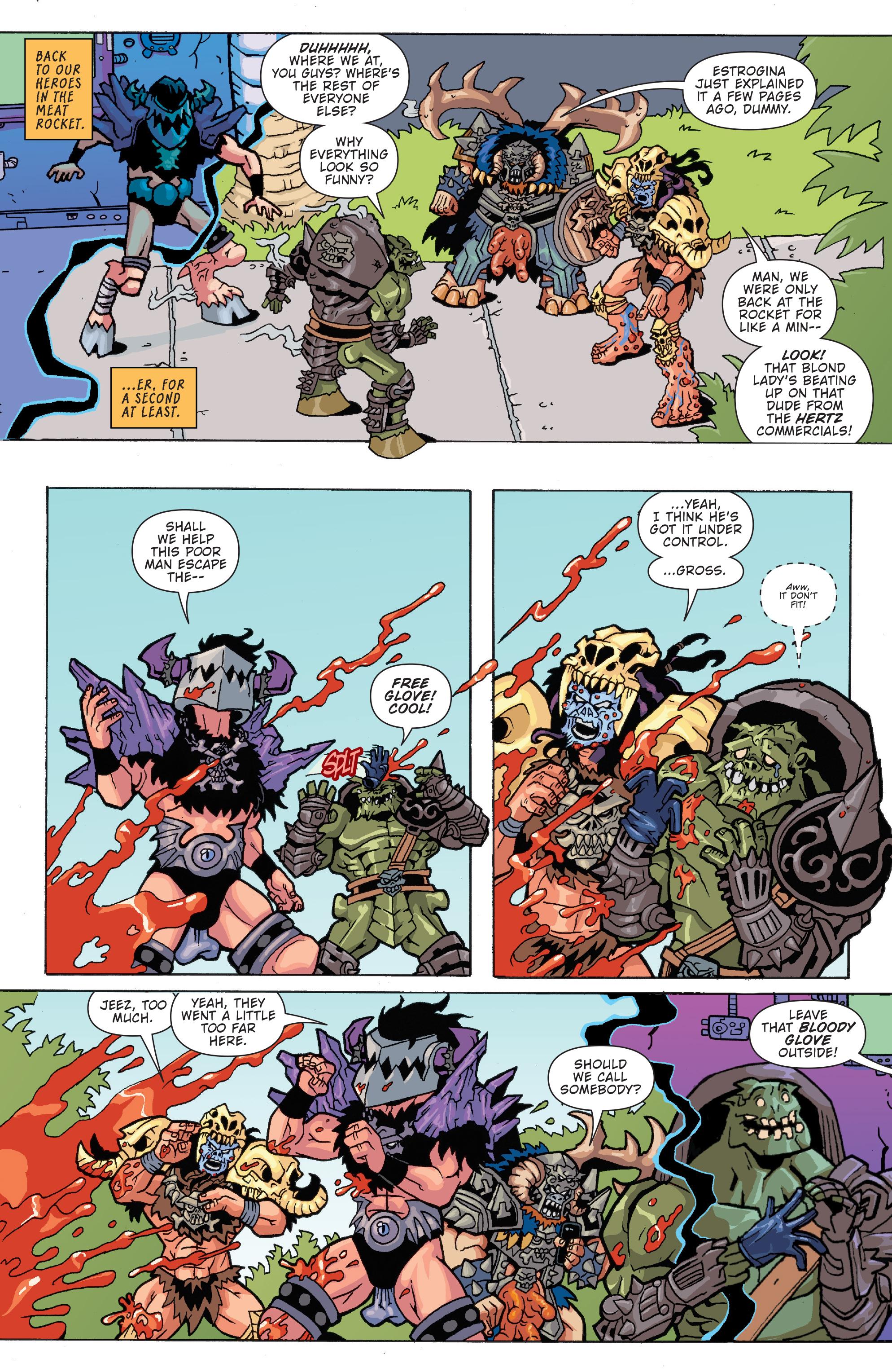 Read online Gwar: Orgasmageddon comic -  Issue #1 - 19