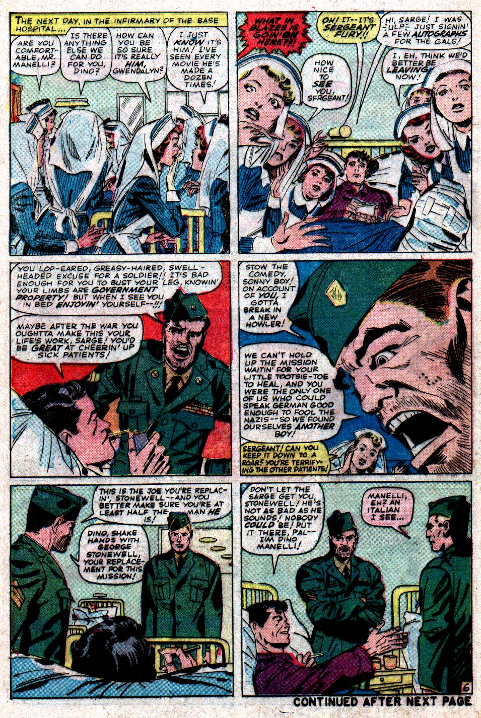 Read online Sgt. Fury comic -  Issue #6 - 8