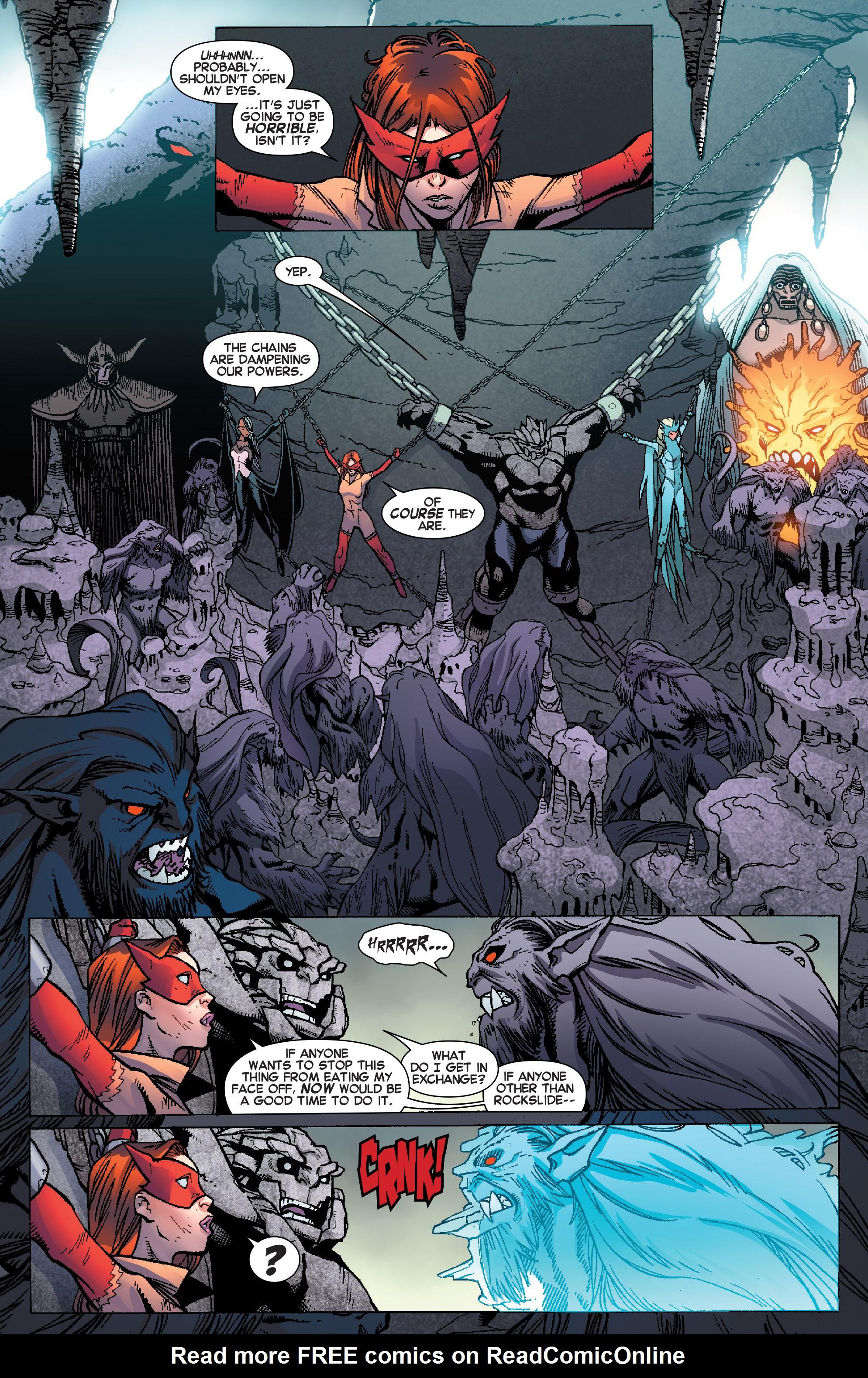 Read online Amazing X-Men (2014) comic -  Issue #12 - 11