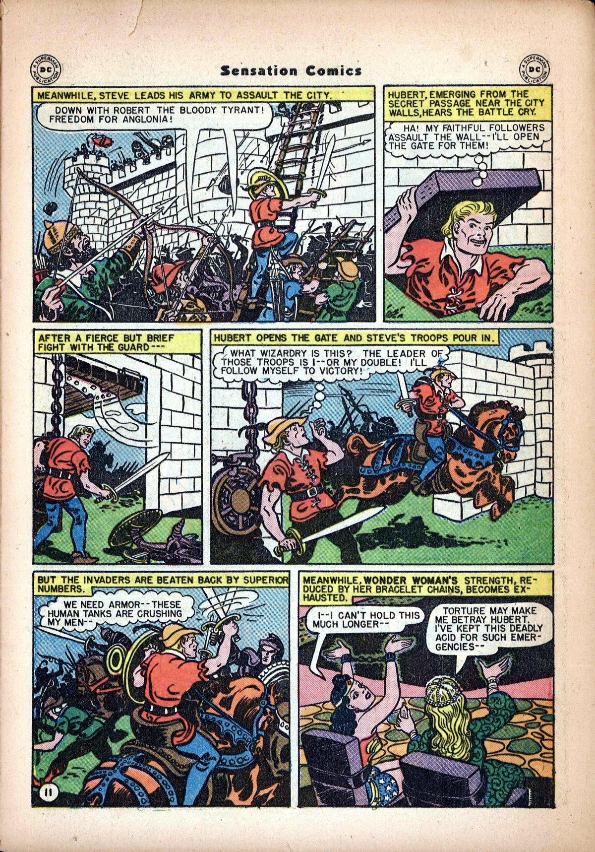 Read online Sensation (Mystery) Comics comic -  Issue #62 - 13