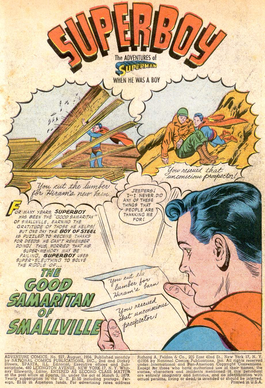 Read online Adventure Comics (1938) comic -  Issue #227 - 3