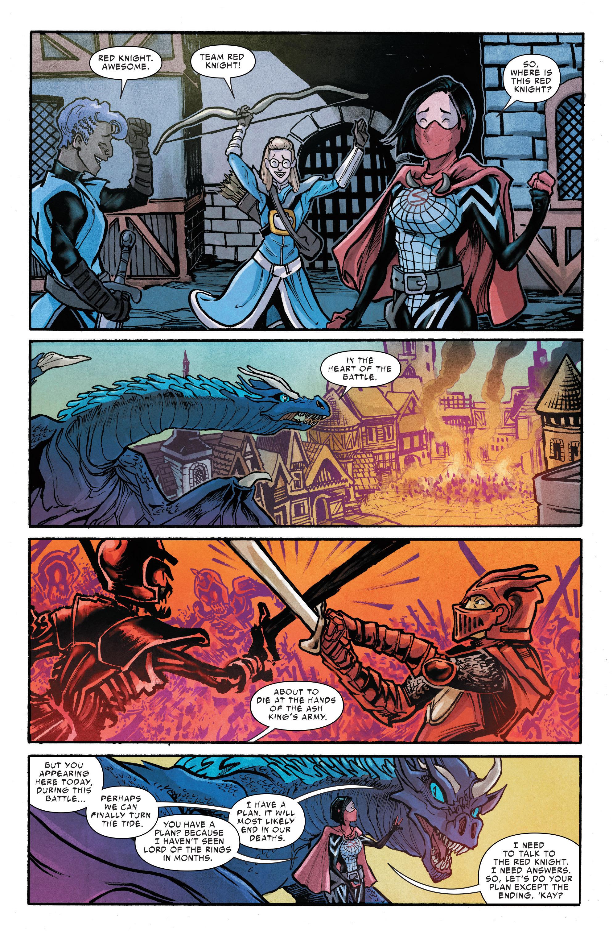 Read online Silk (2016) comic -  Issue #12 - 16