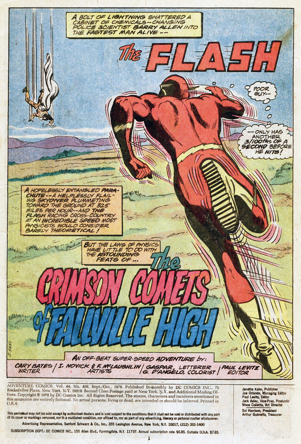 Read online Adventure Comics (1938) comic -  Issue #459 - 3