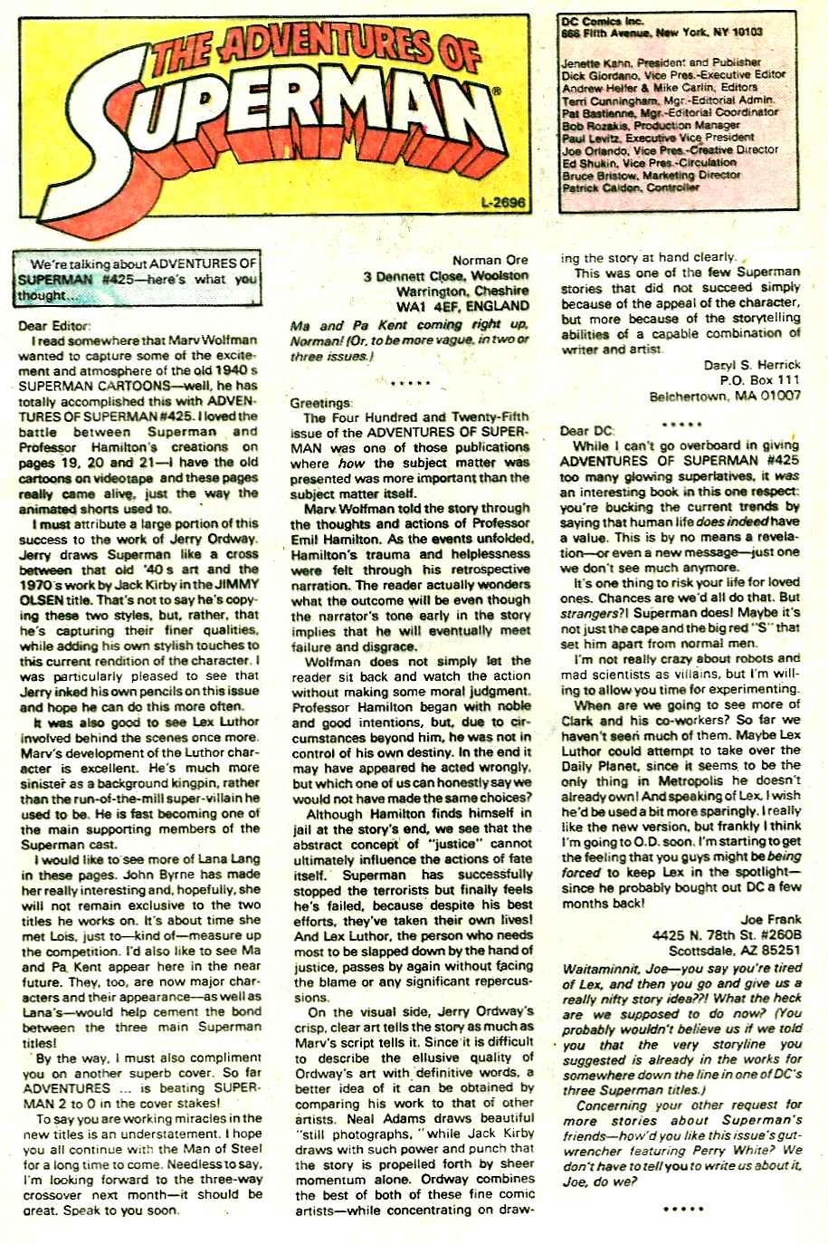 Read online Adventures of Superman (1987) comic -  Issue #428 - 23