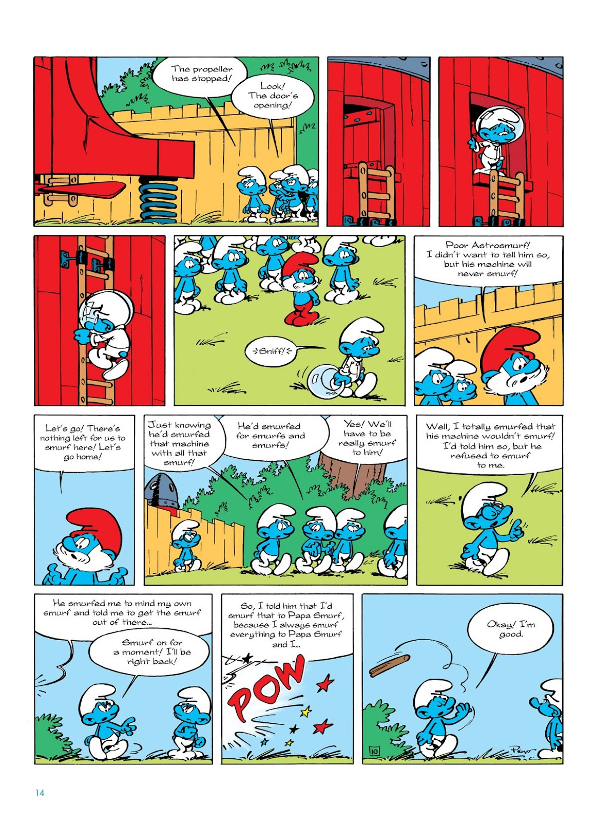 Read online The Smurfs comic -  Issue #7 - 14