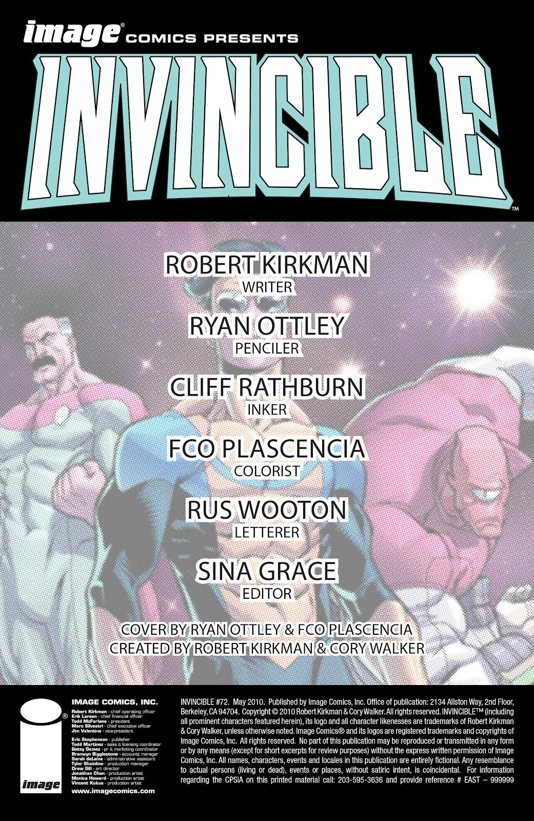 Invincible (2003) 72 Page 2