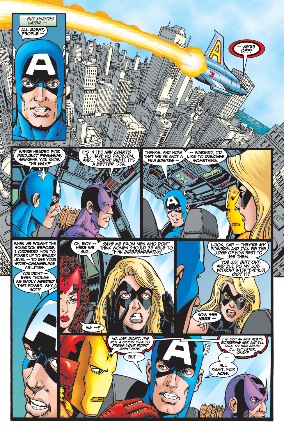 Read online Avengers (1998) comic -  Issue #6 - 7