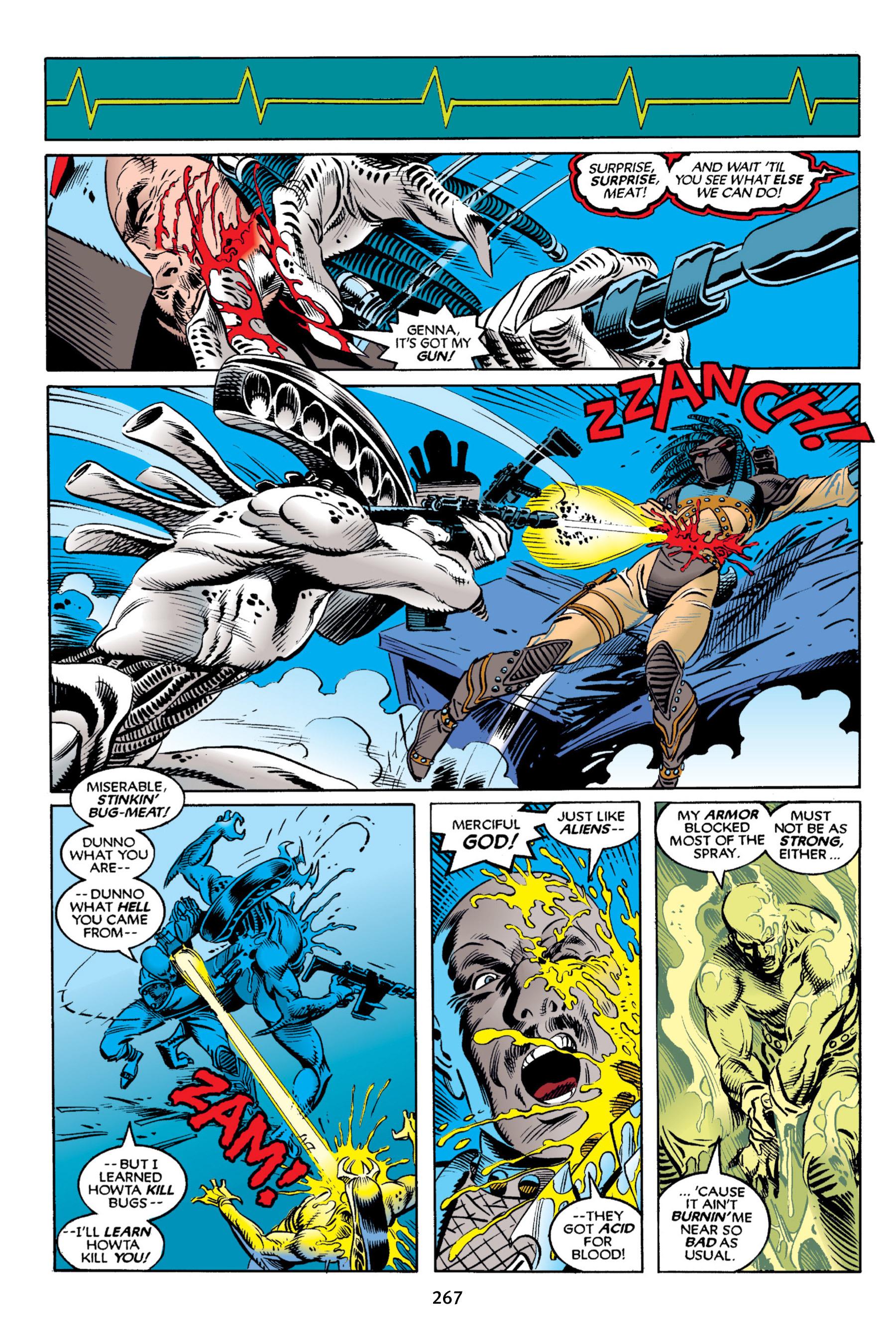 Read online Aliens vs. Predator Omnibus comic -  Issue # _TPB 2 Part 3 - 42