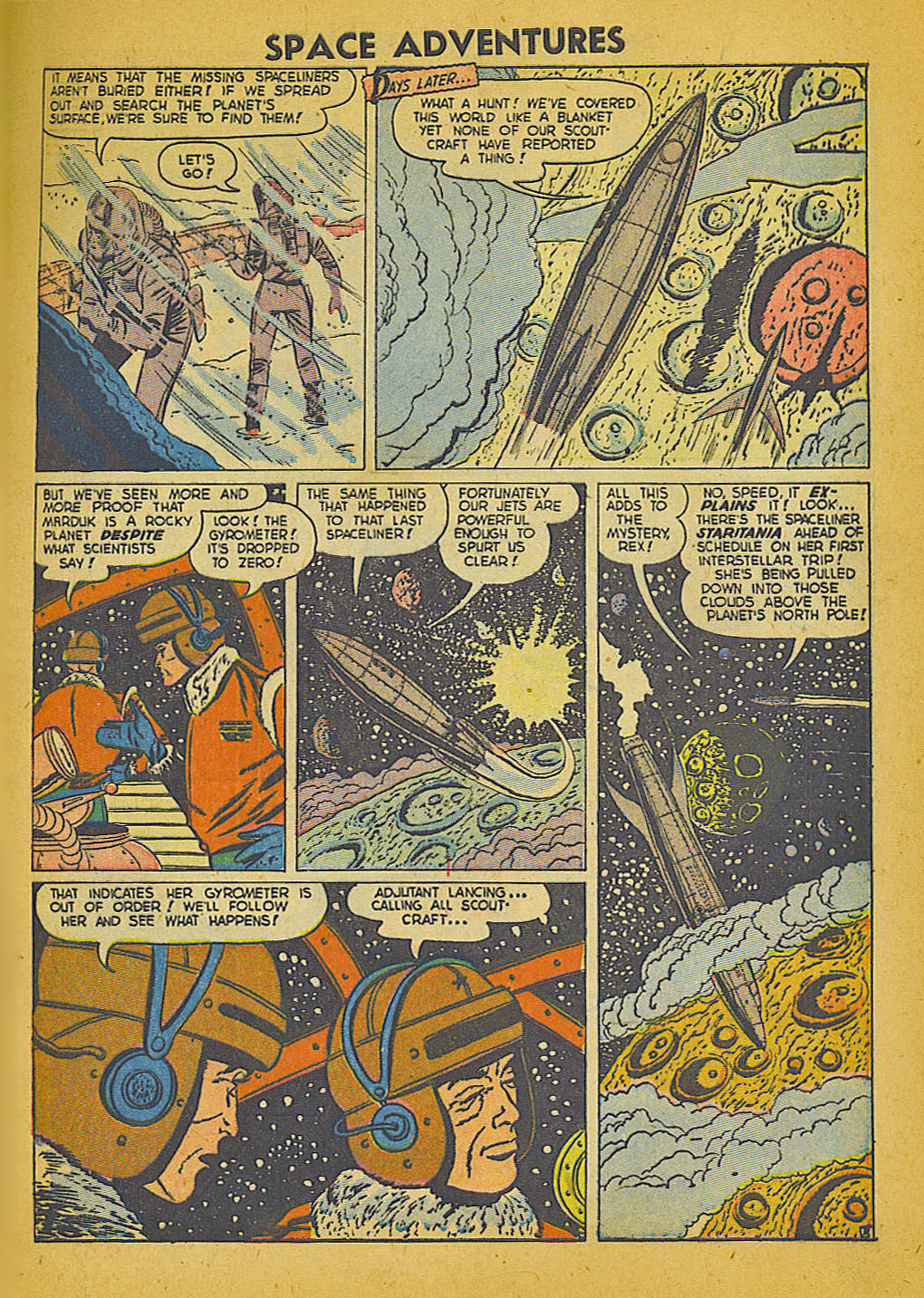 Space Adventures (1952) issue 3 - Page 4