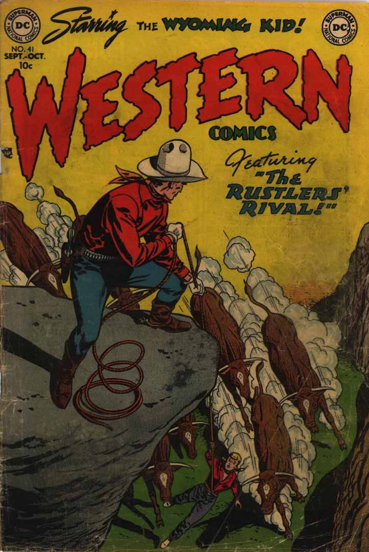Western Comics issue 41 - Page 1