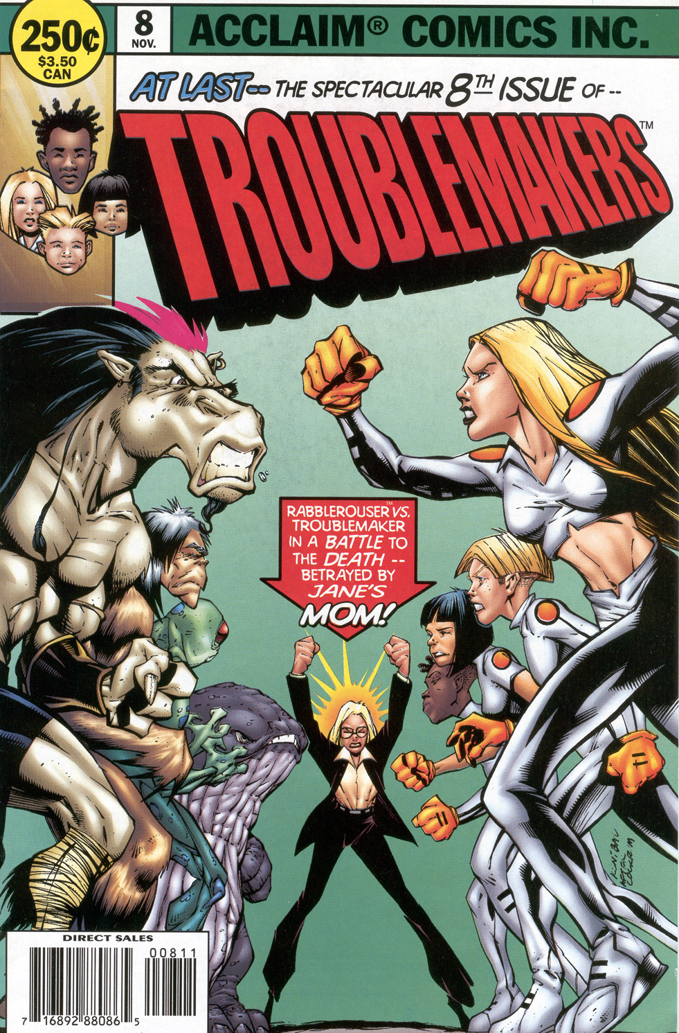 Read online Troublemakers comic -  Issue #8 - 1