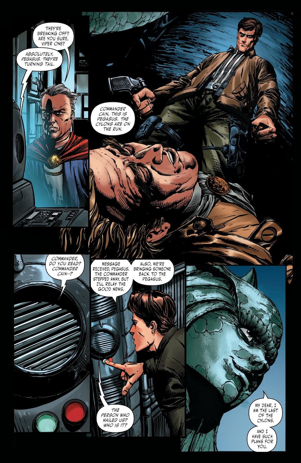 Battlestar Galactica BSG vs. BSG issue 1 - Page 19