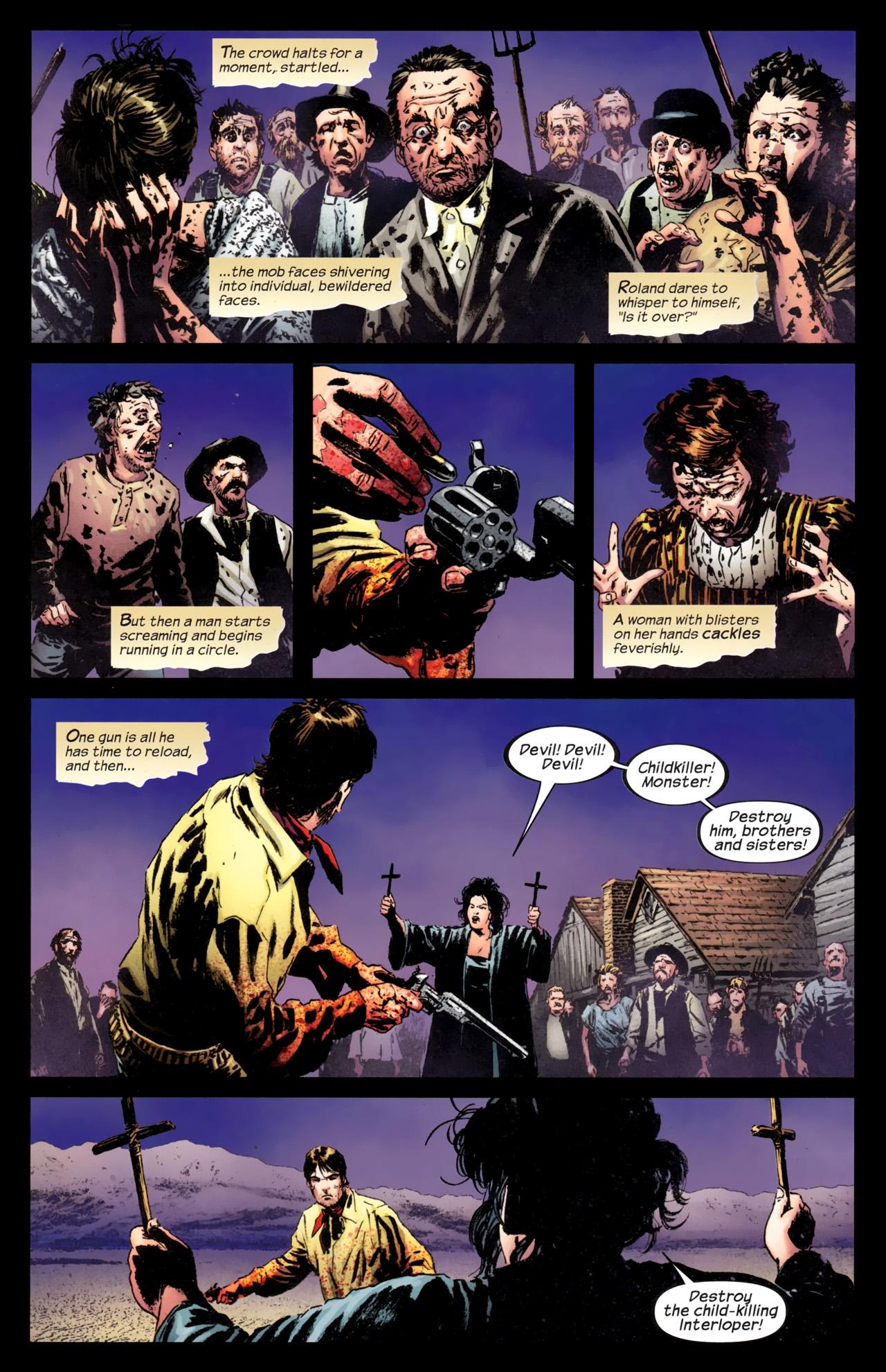 Read online Dark Tower: The Gunslinger - The Battle of Tull comic -  Issue #5 - 13